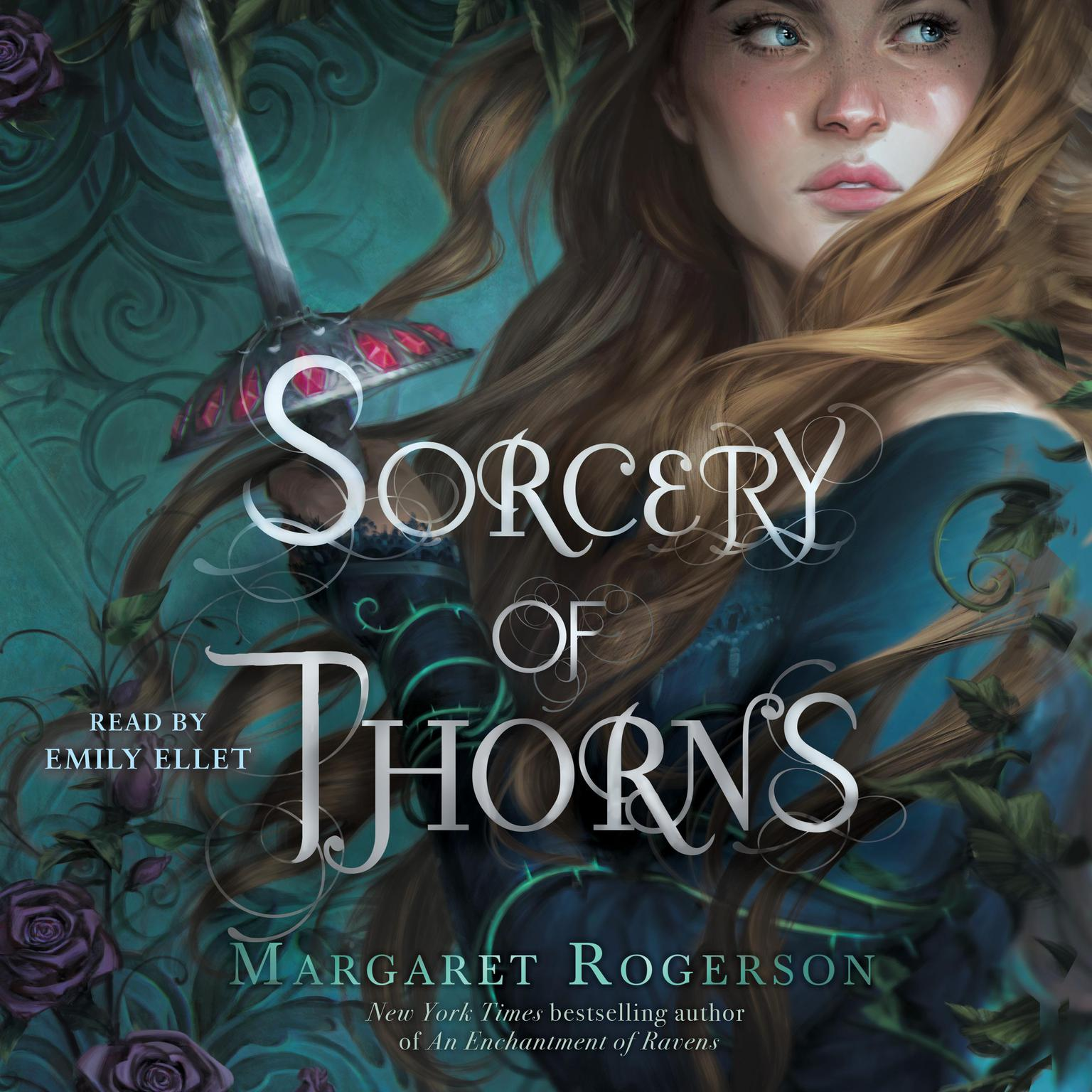 Printable Sorcery of Thorns Audiobook Cover Art