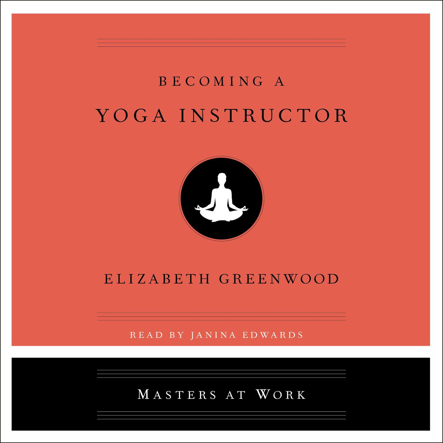 Printable Becoming a Yoga Instructor Audiobook Cover Art