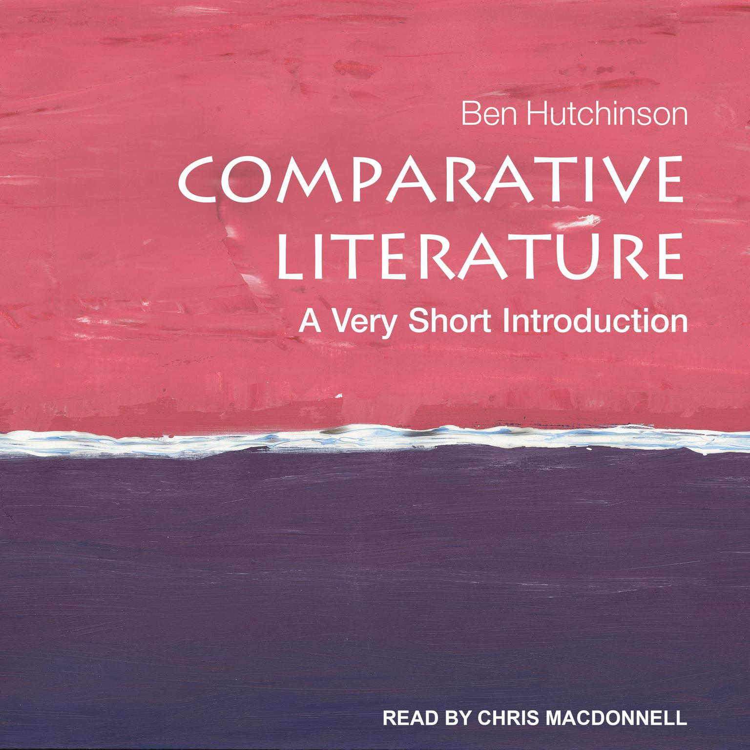 Printable Comparative Literature: A Very Short Introduction Audiobook Cover Art