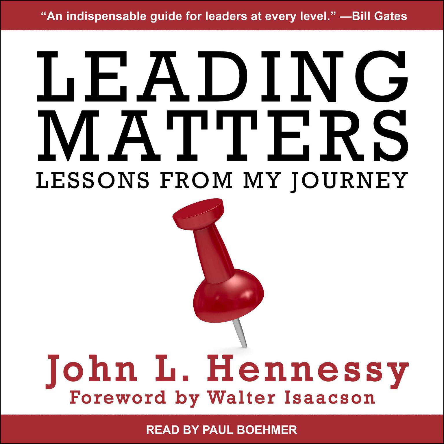 Printable Leading Matters: Lessons from My Journey Audiobook Cover Art