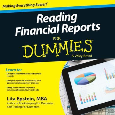 Reading Financial Reports for Dummies Audiobook, by Lita Epstein