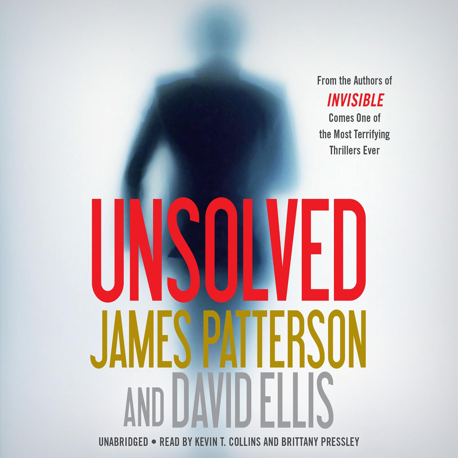 Printable Unsolved Audiobook Cover Art