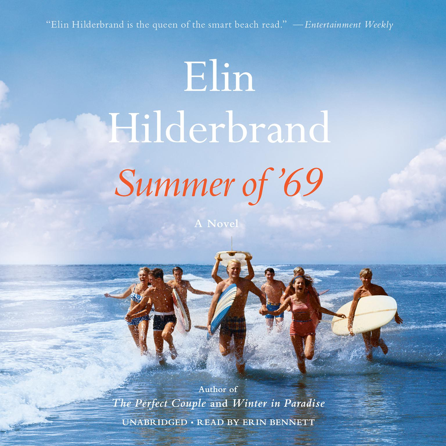 Printable Summer of '69 Audiobook Cover Art