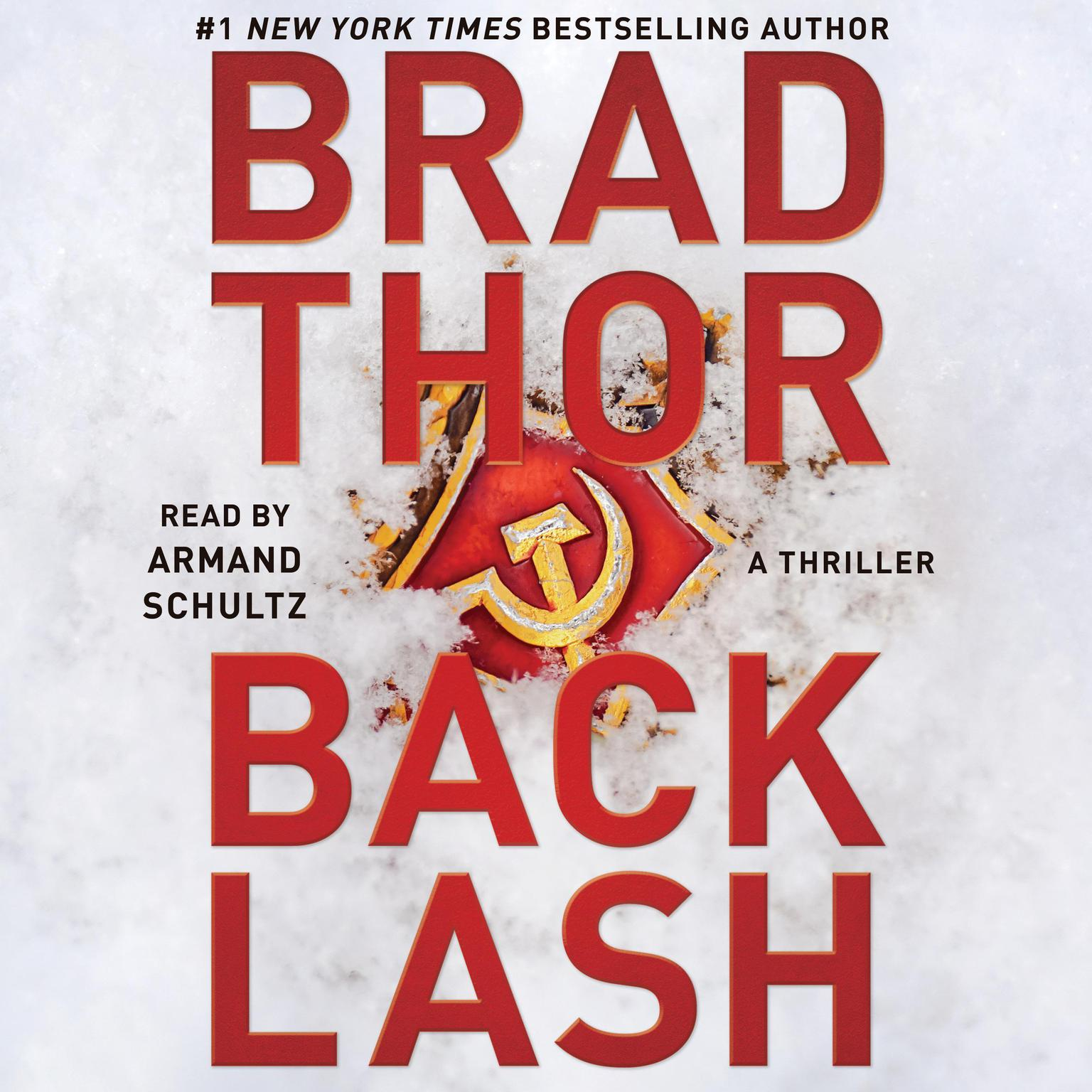 Printable Backlash: A Thriller Audiobook Cover Art