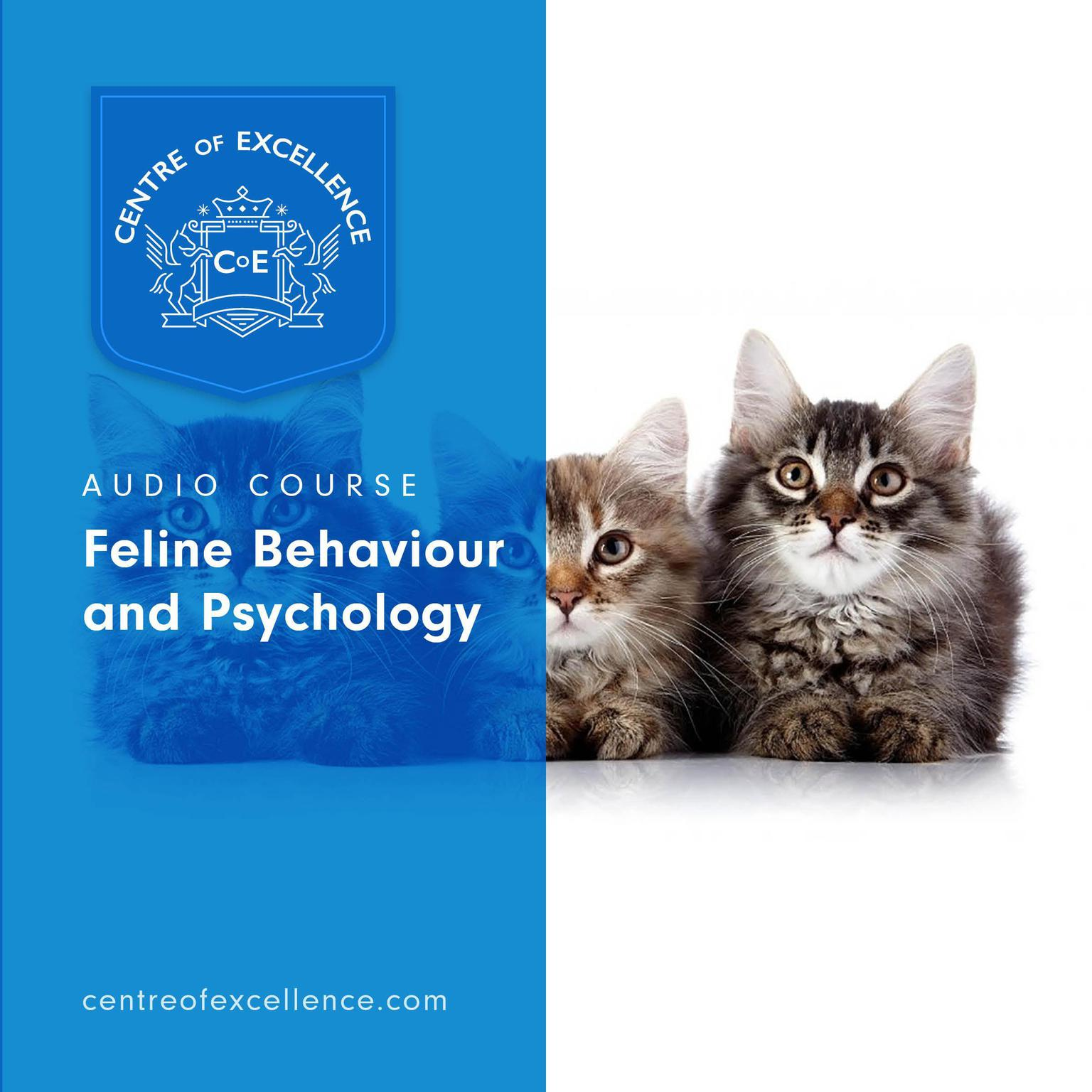 Printable Feline Behaviour and Psychology Audiobook Cover Art