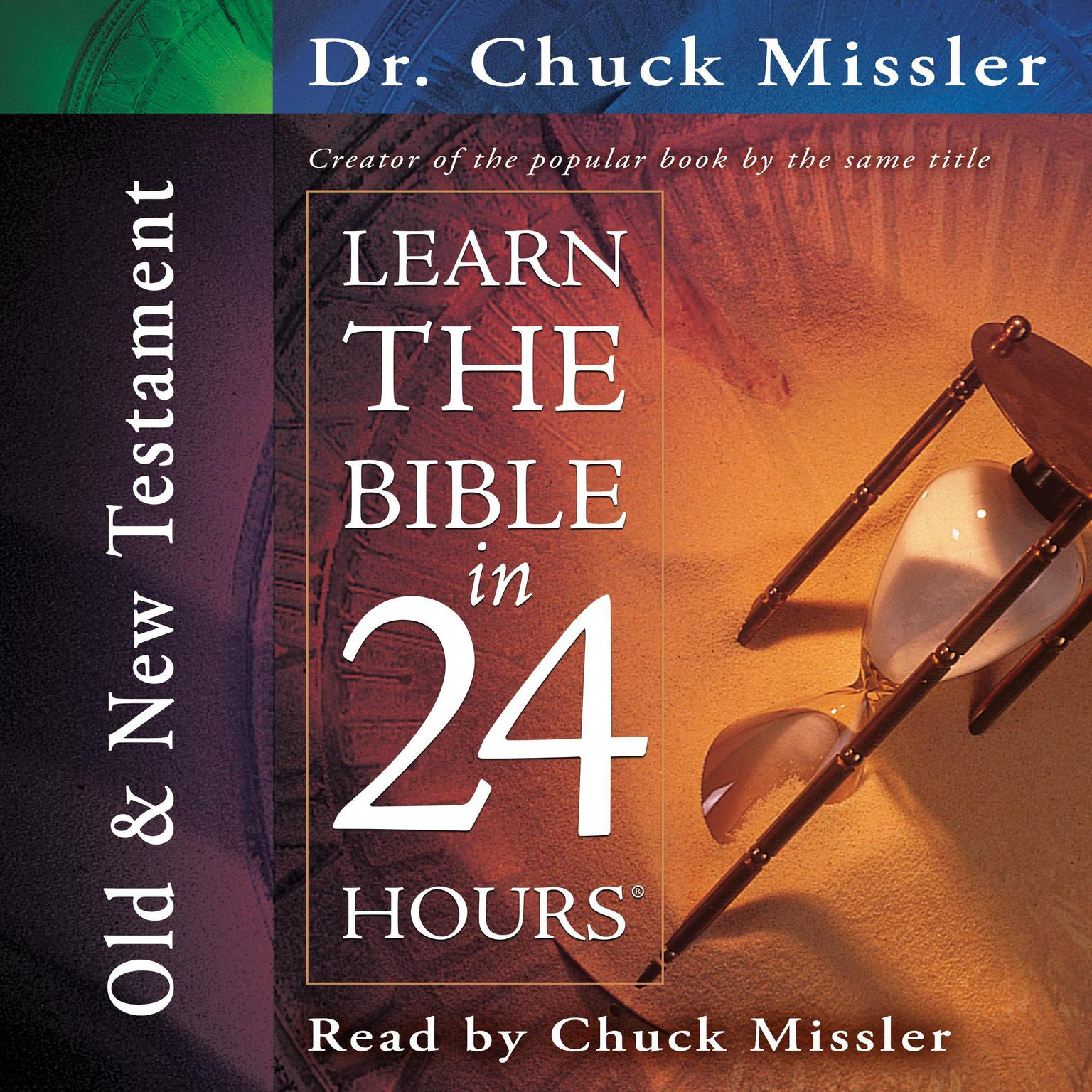 Printable Learn the Bible in 24 Hours: Old and New Testament Audiobook Cover Art