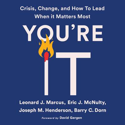 Youre It: Crisis, Change, and How to Lead When It Matters Most Audiobook, by Eric J. McNulty