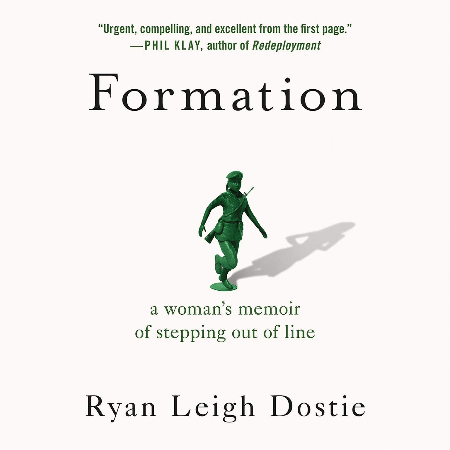 Printable Formation: A Woman's Memoir of Stepping Out of Line Audiobook Cover Art