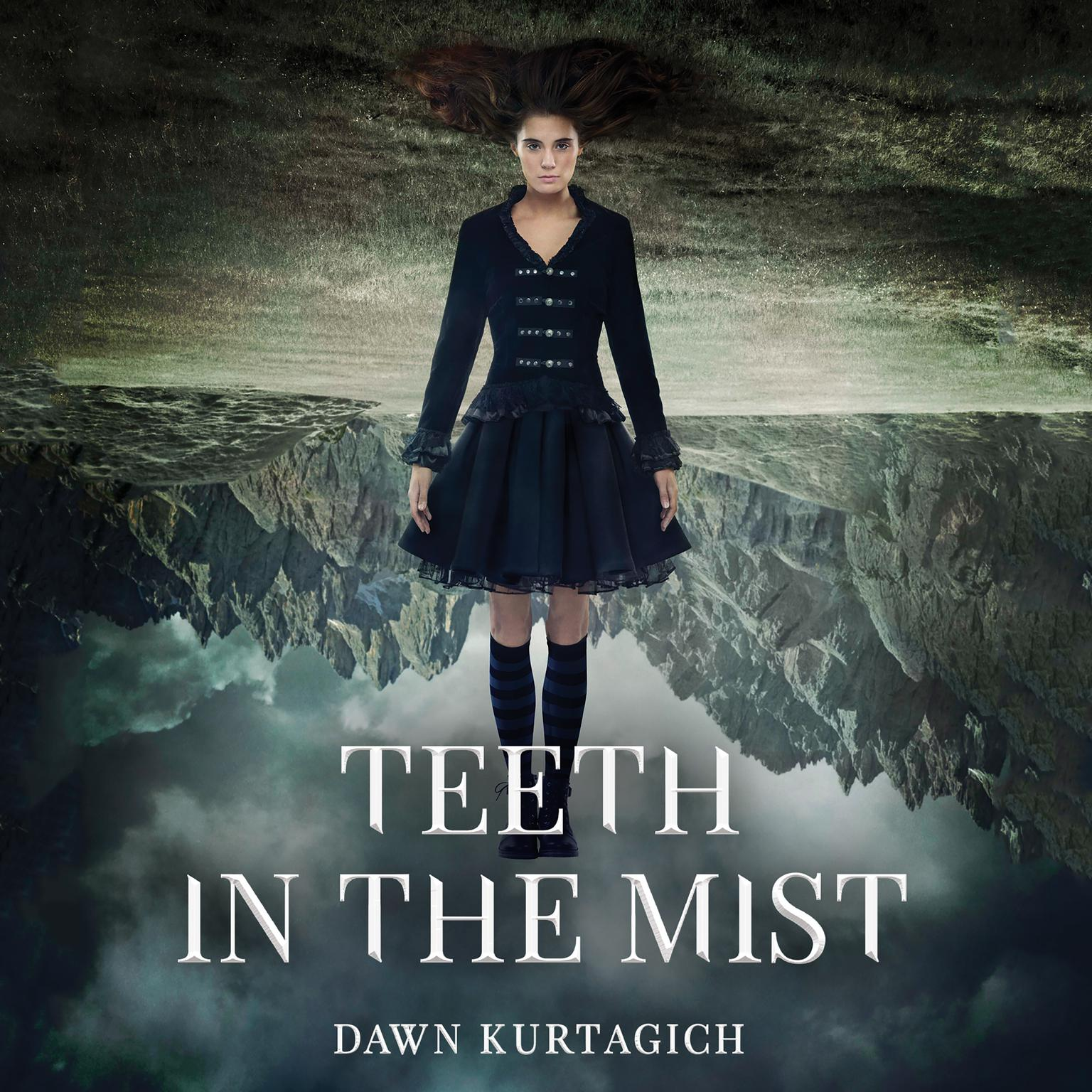 Printable Teeth in the Mist Audiobook Cover Art