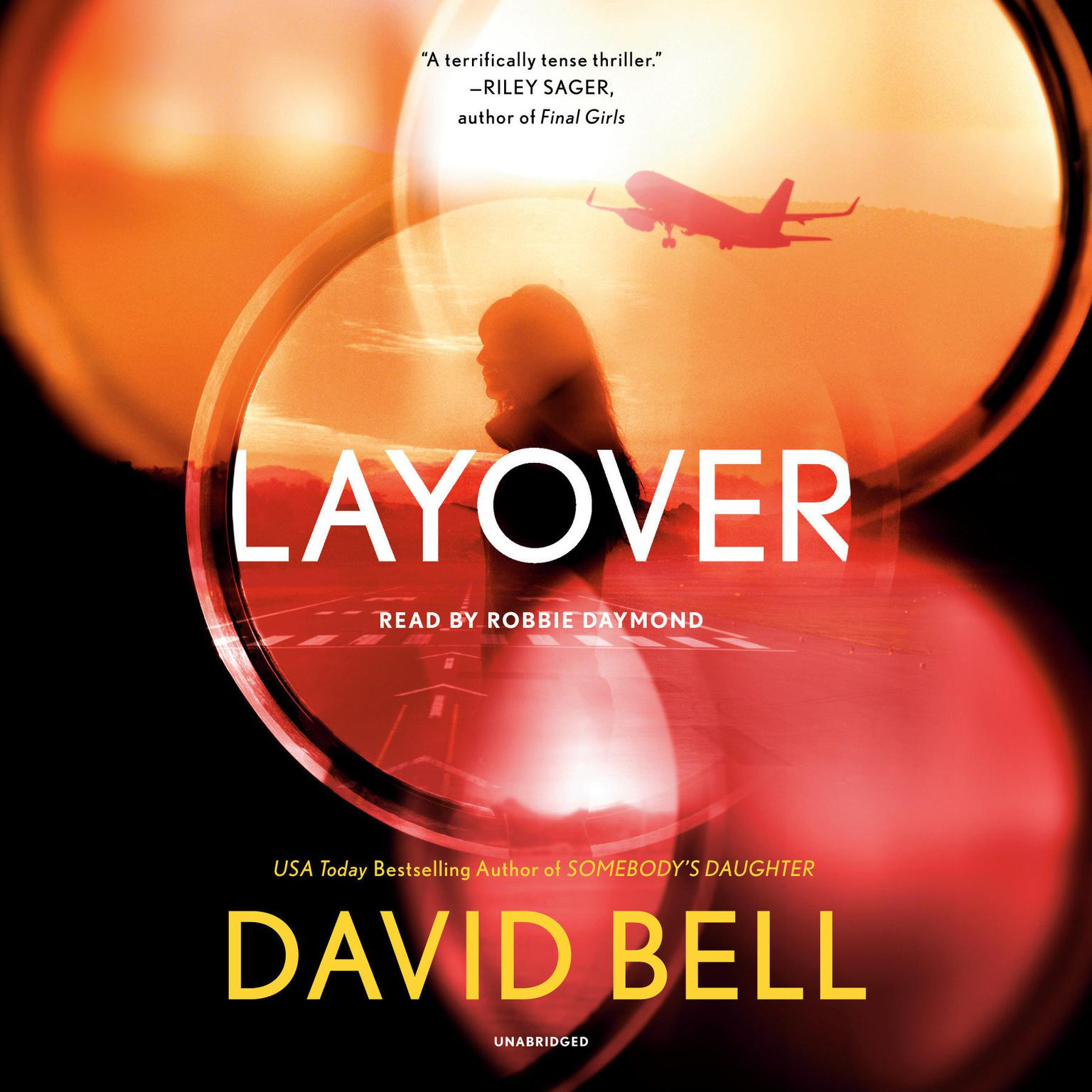 Printable Layover Audiobook Cover Art