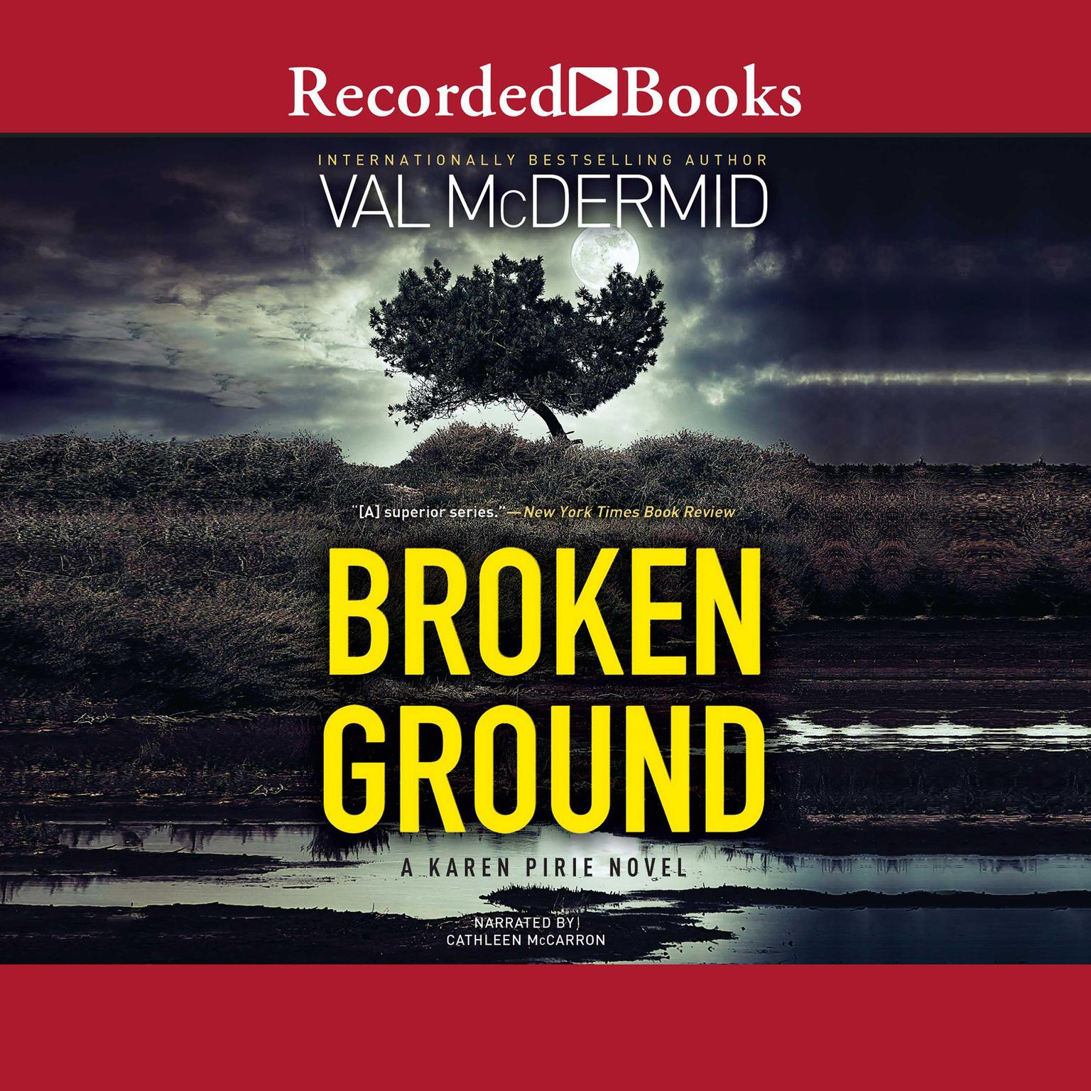 Printable Broken Ground Audiobook Cover Art