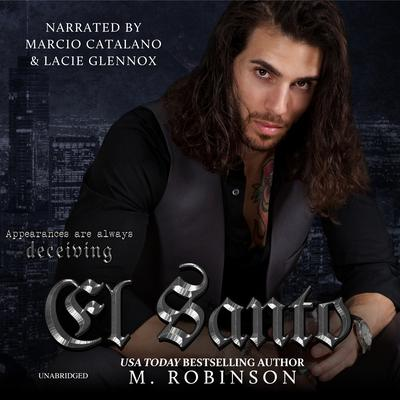 El Santo Audiobook, by M. Robinson