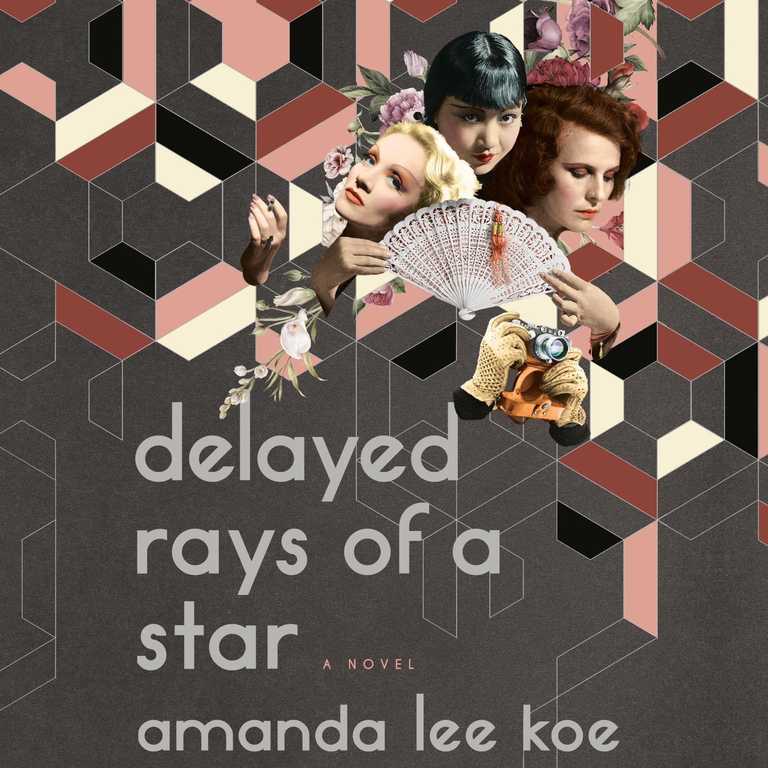 Printable Delayed Rays of a Star: A Novel Audiobook Cover Art