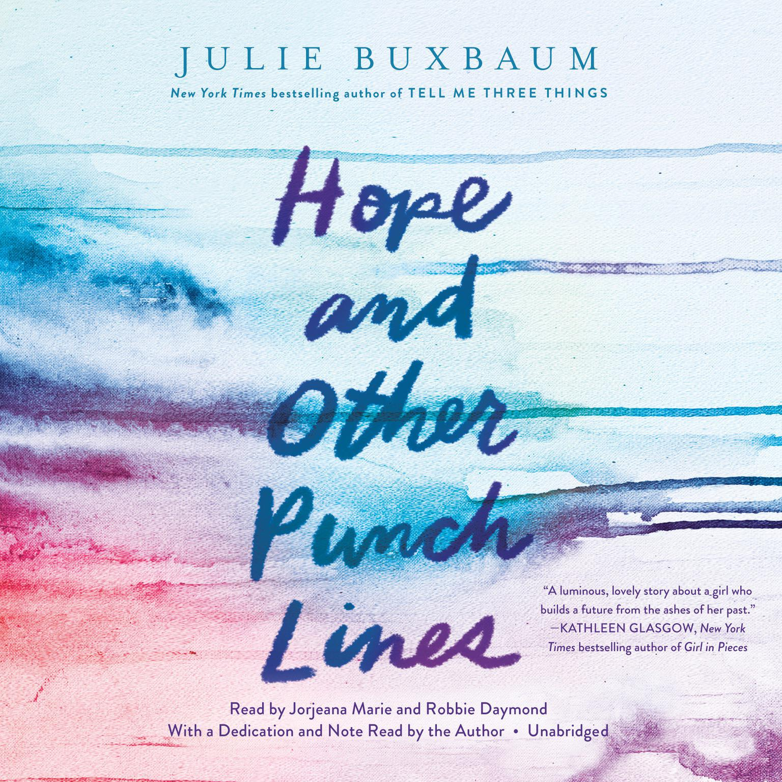 Printable Hope and Other Punch Lines Audiobook Cover Art