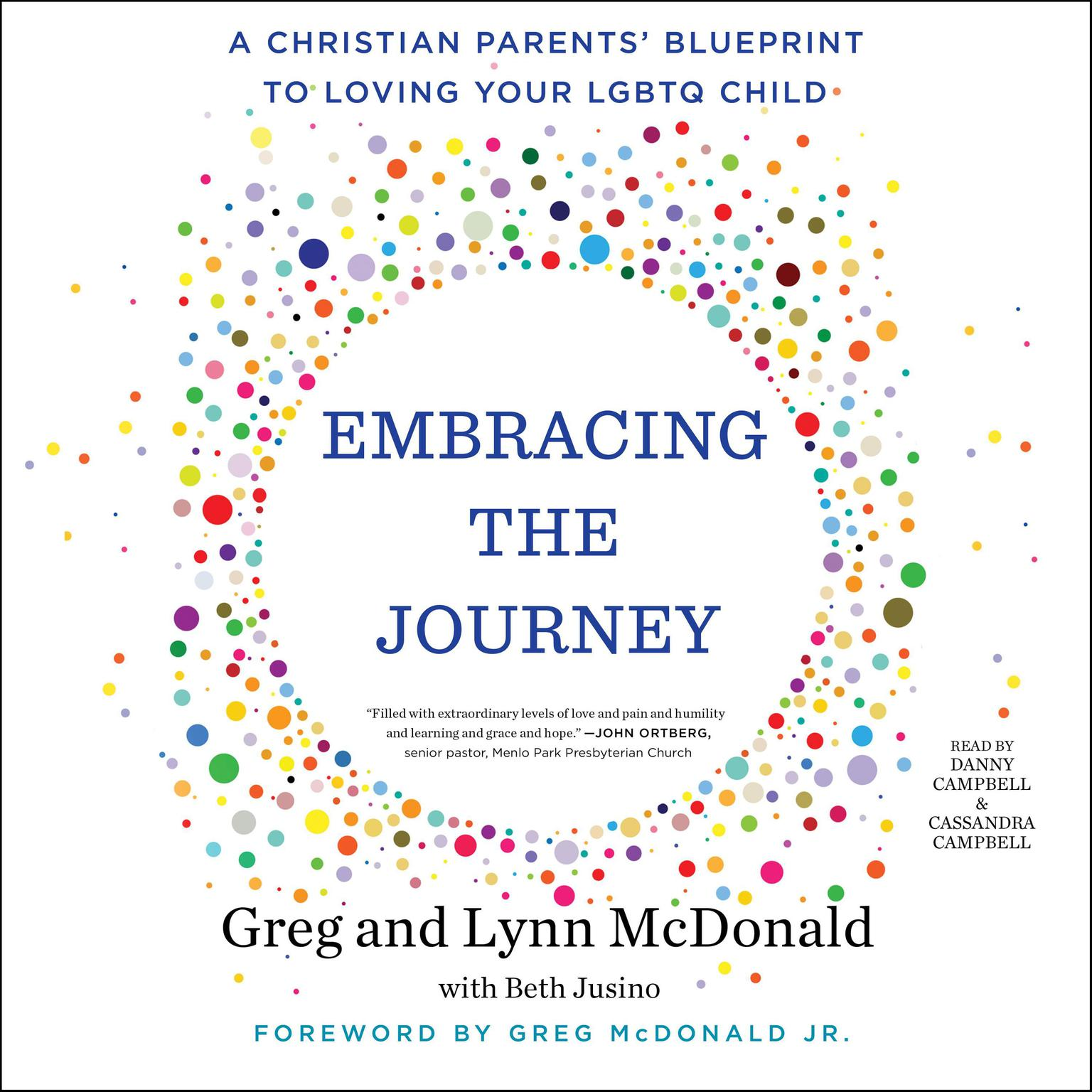 Printable Embracing the Journey: A Christian Parents' Blueprint to Loving Your LGBTQ Child Audiobook Cover Art