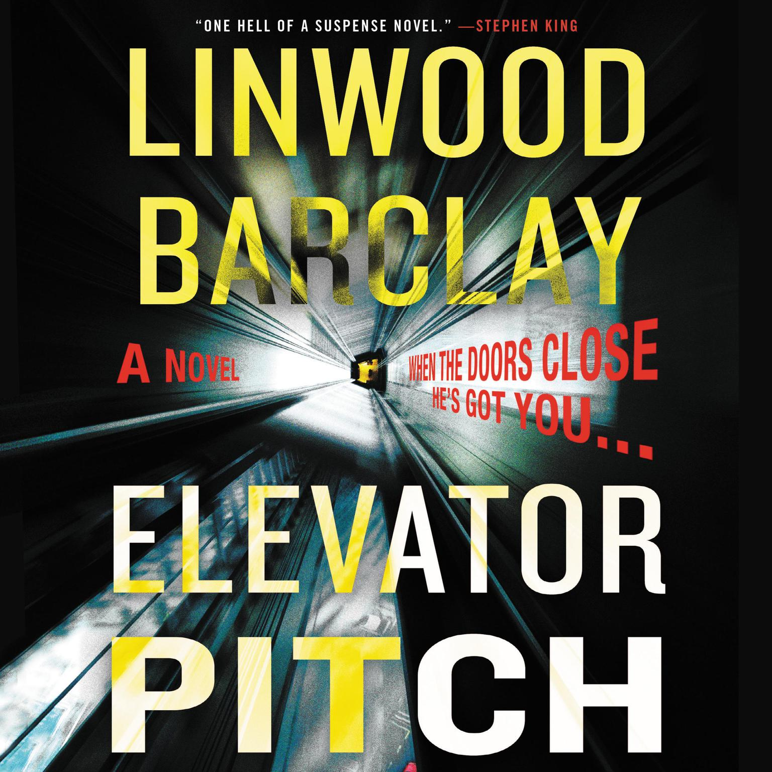 Printable Elevator Pitch: A Novel Audiobook Cover Art