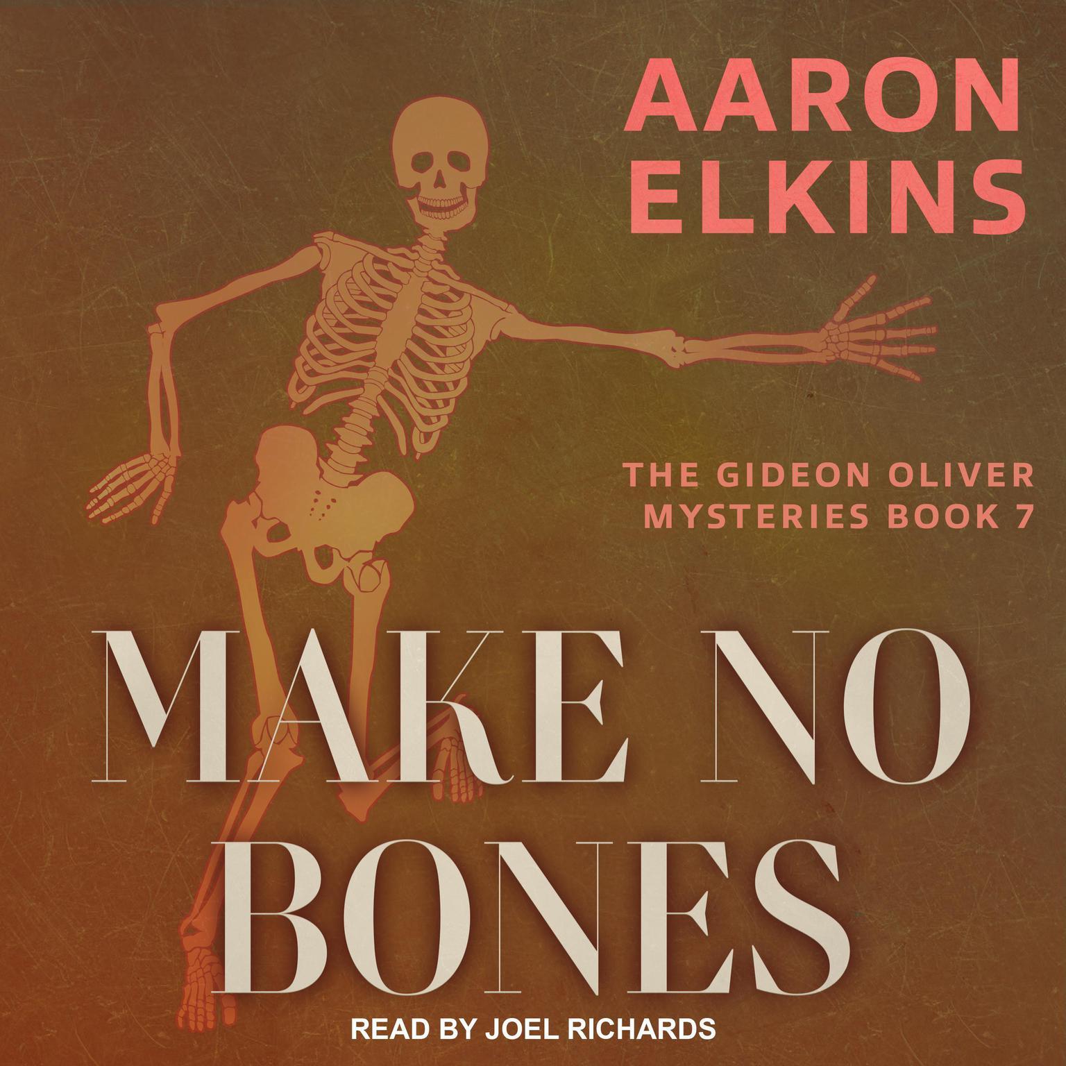 Printable Make No Bones Audiobook Cover Art