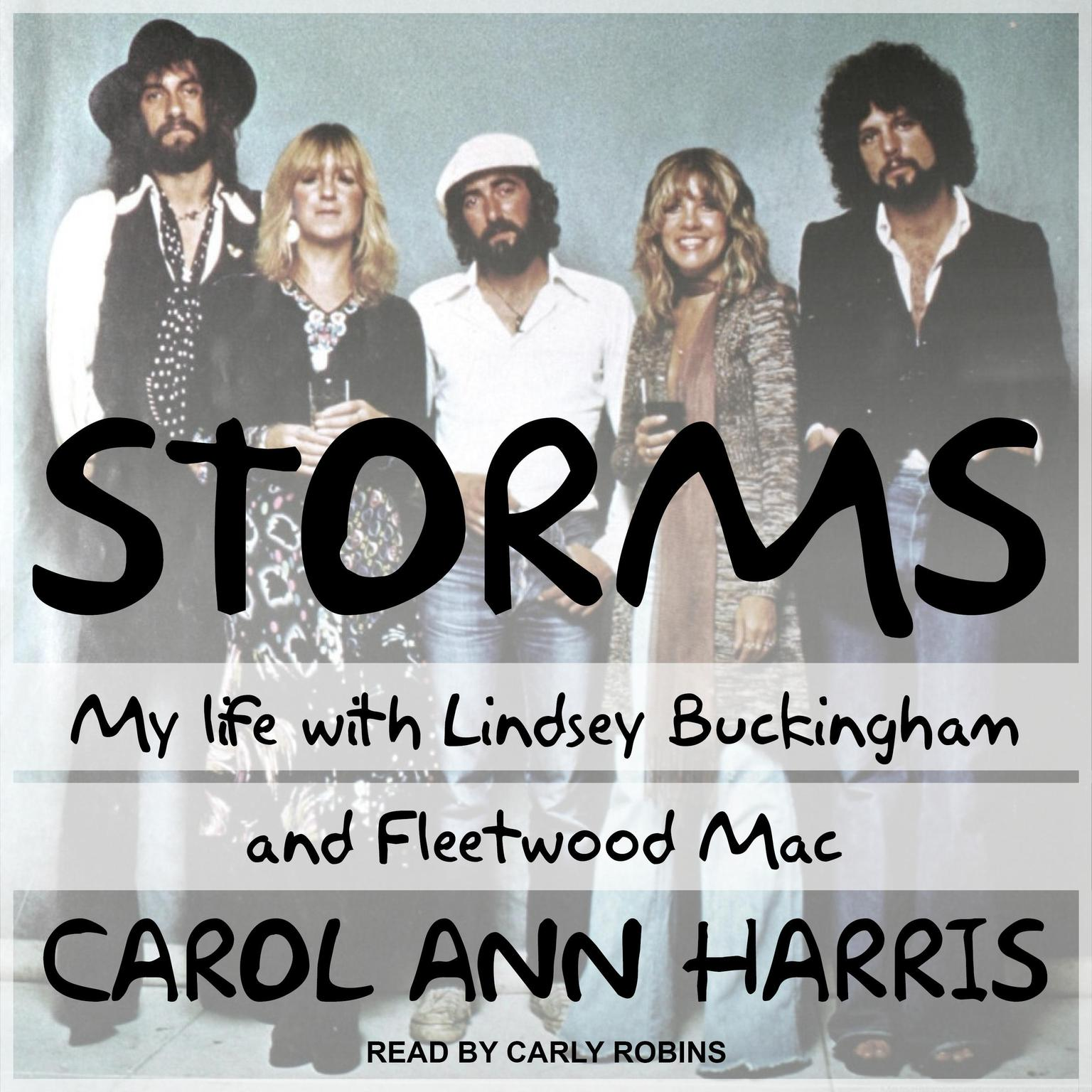 Printable Storms: My Life with Lindsey Buckingham and Fleetwood Mac Audiobook Cover Art