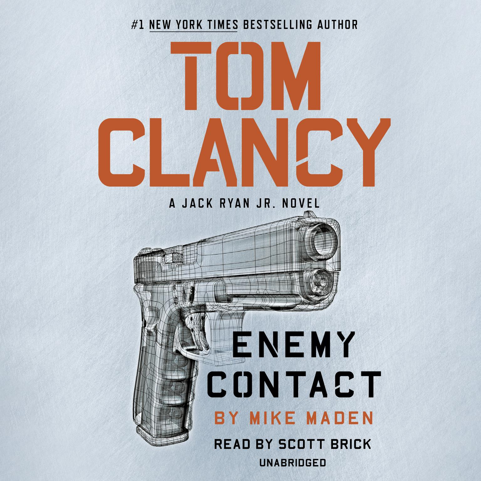 Printable Tom Clancy Enemy Contact Audiobook Cover Art