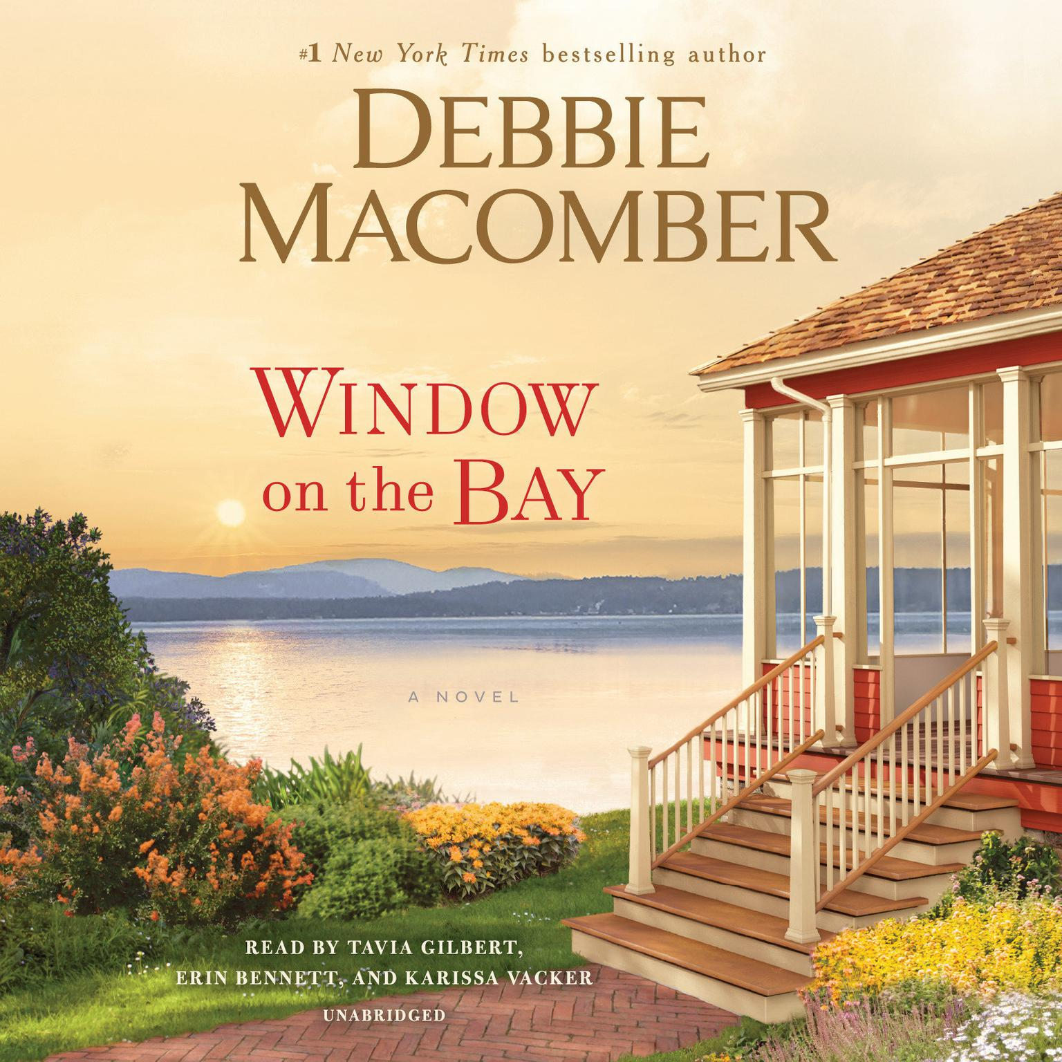 Printable Window on the Bay: A Novel Audiobook Cover Art