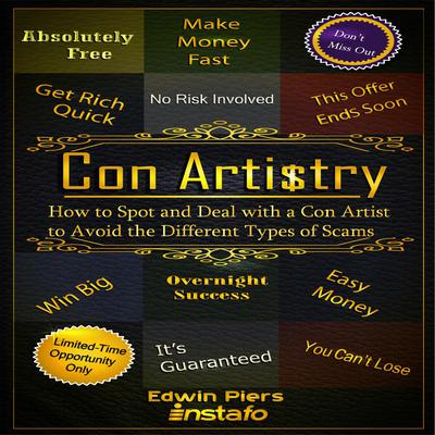 Con Artistry Audiobook, by Edwin Piers
