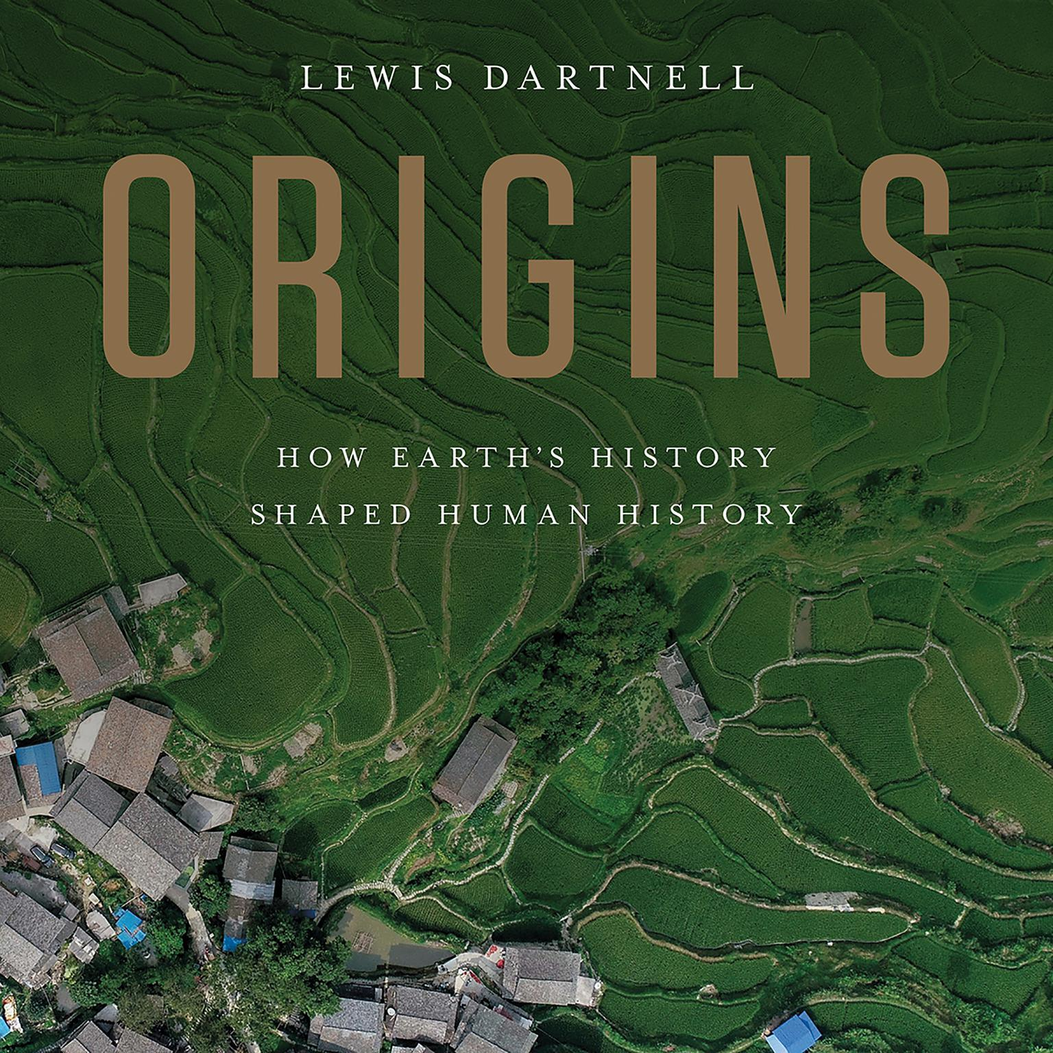 Printable Origins: How Earth's History Shaped Human History Audiobook Cover Art