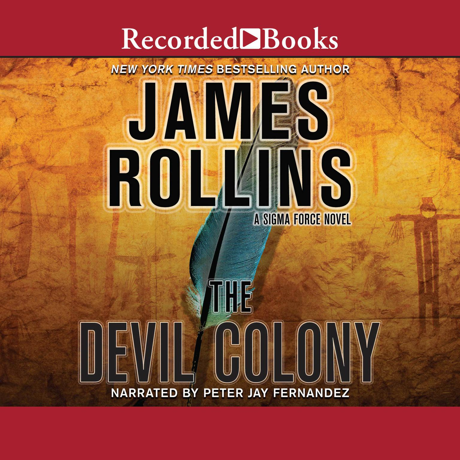 Printable The Devil Colony Audiobook Cover Art