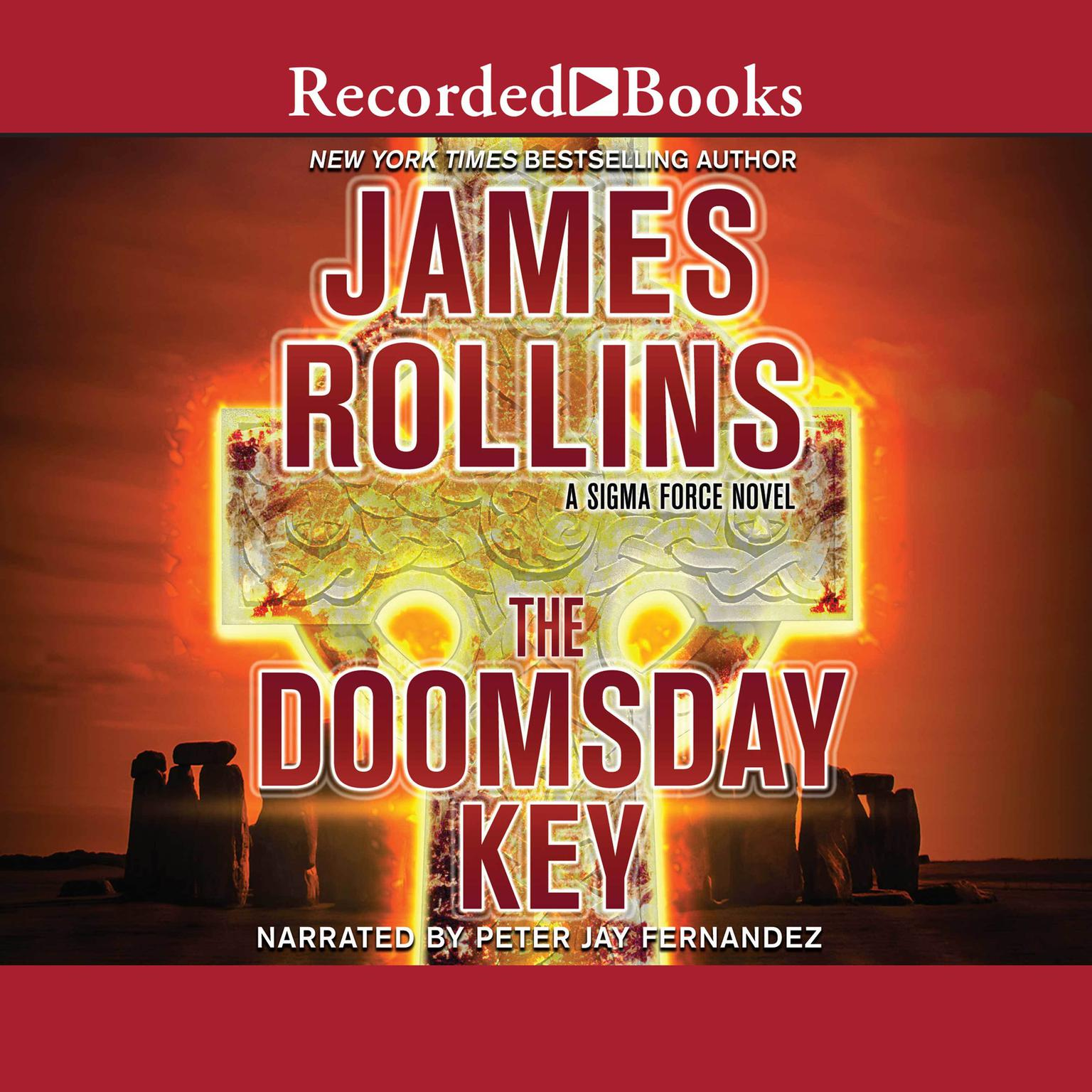 Printable The Doomsday Key Audiobook Cover Art
