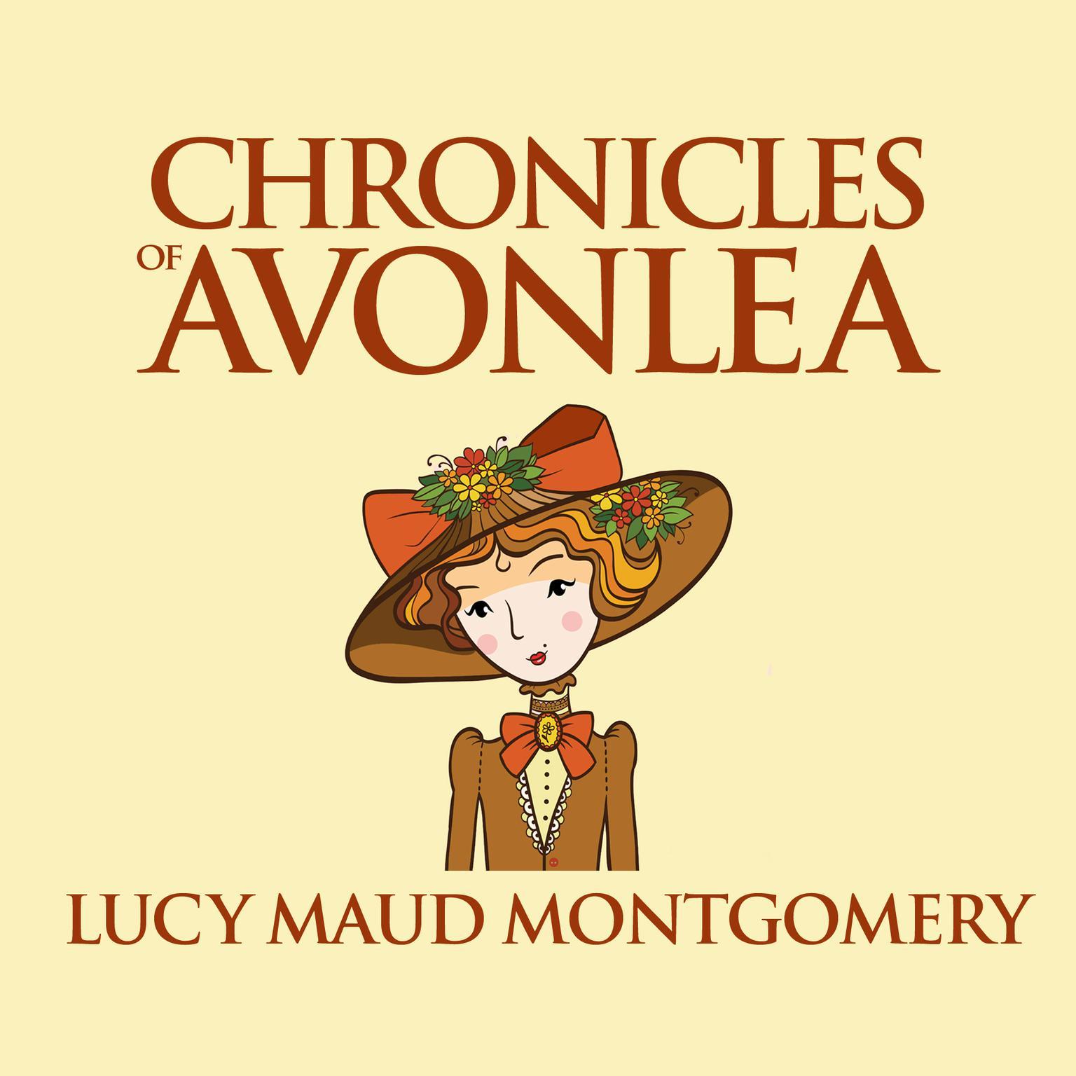 Printable Chronicles of Avonlea Audiobook Cover Art