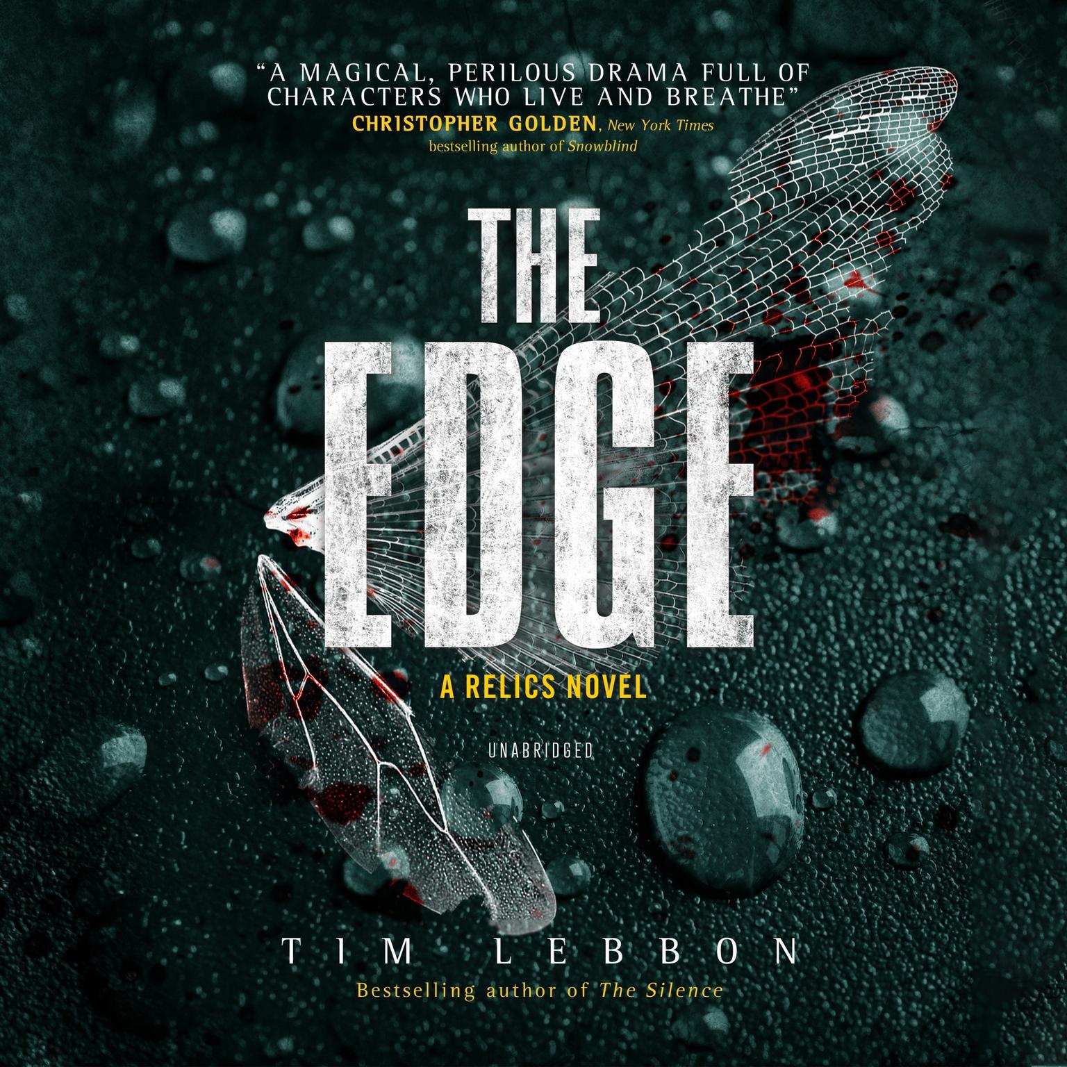 Printable The Edge Audiobook Cover Art
