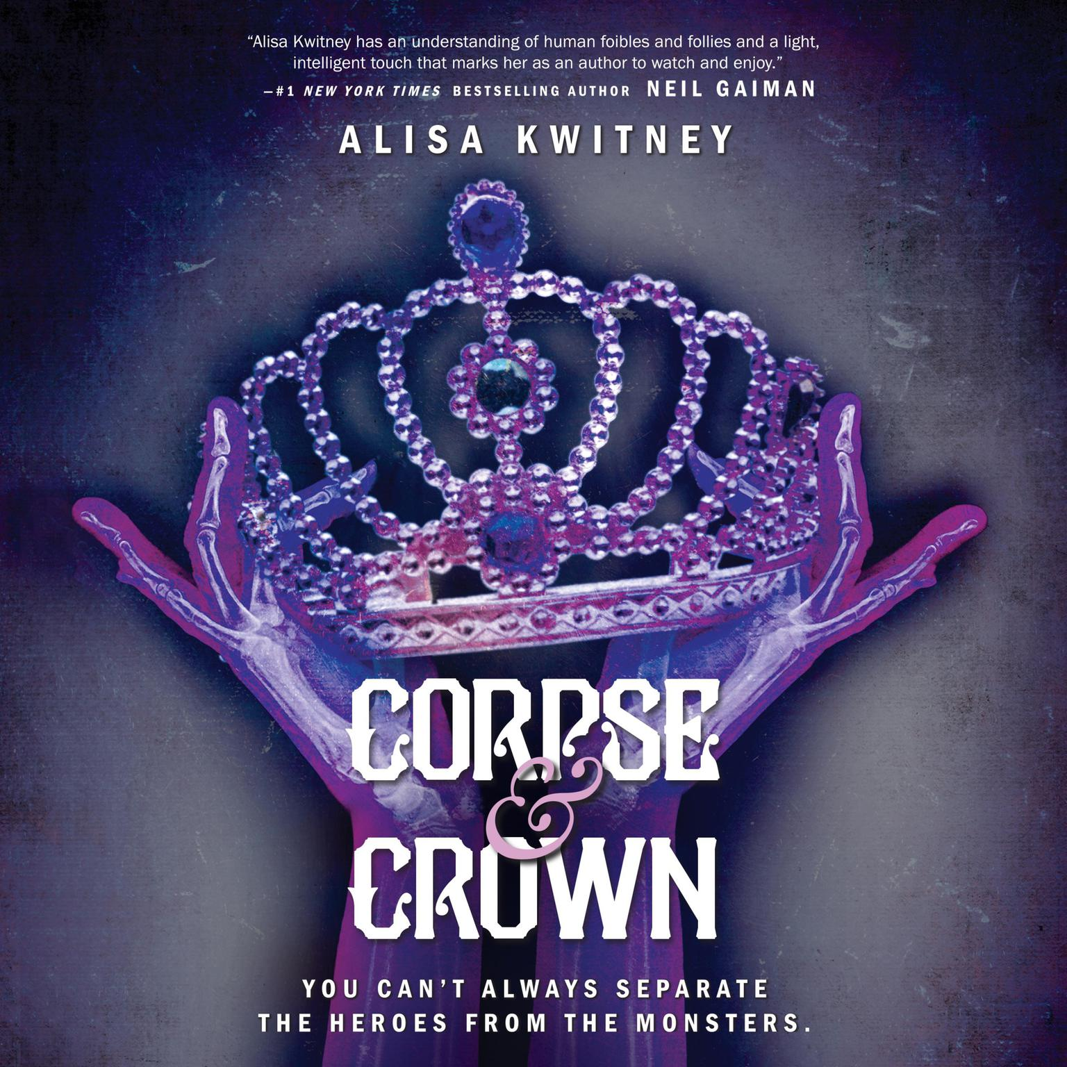 Printable Corpse & Crown Audiobook Cover Art