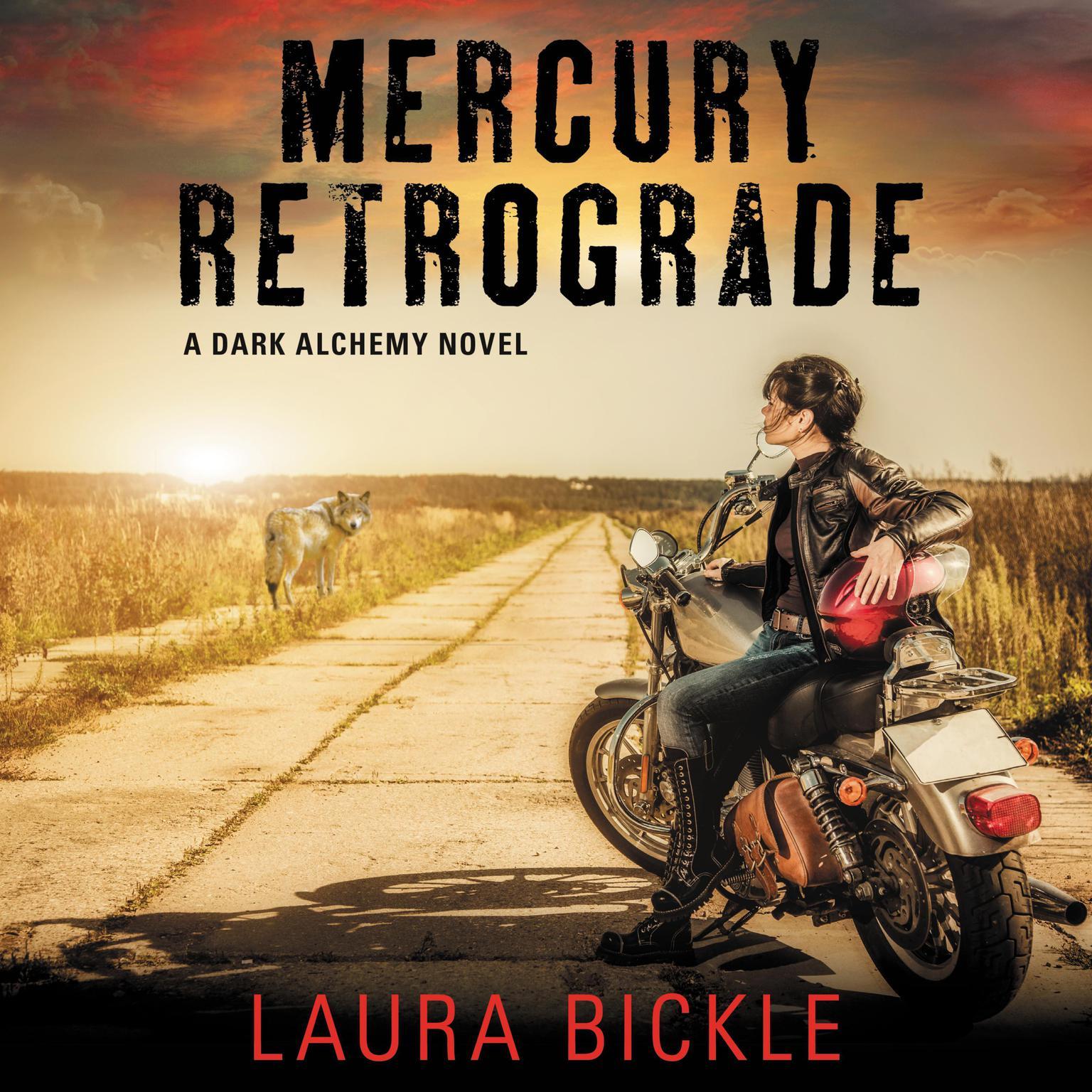 Printable Mercury Retrograde: A Dark Alchemy Novel Audiobook Cover Art