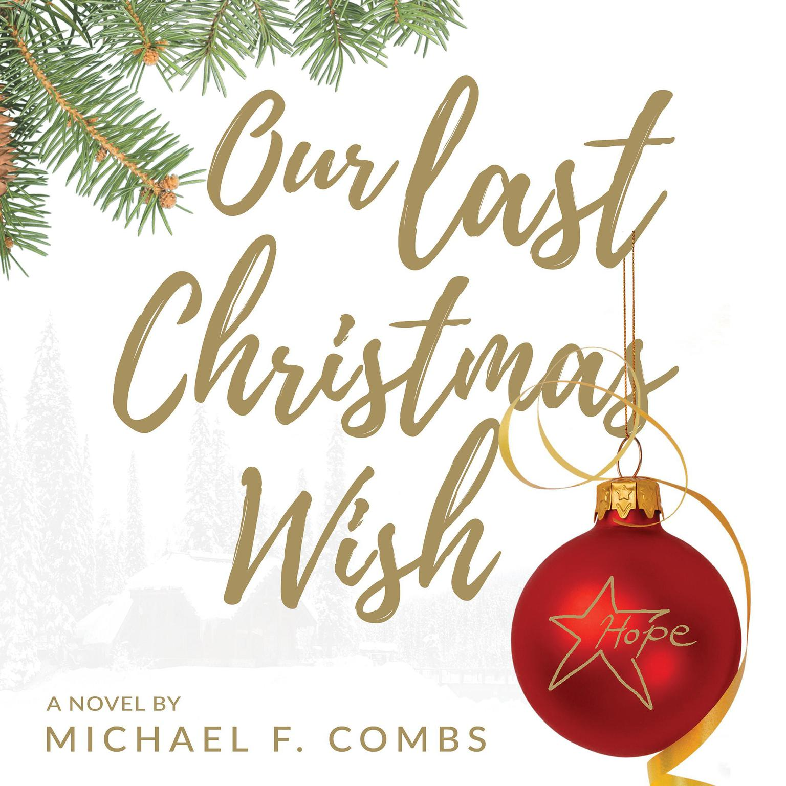 Printable Our Last Christmas Wish Audiobook Cover Art