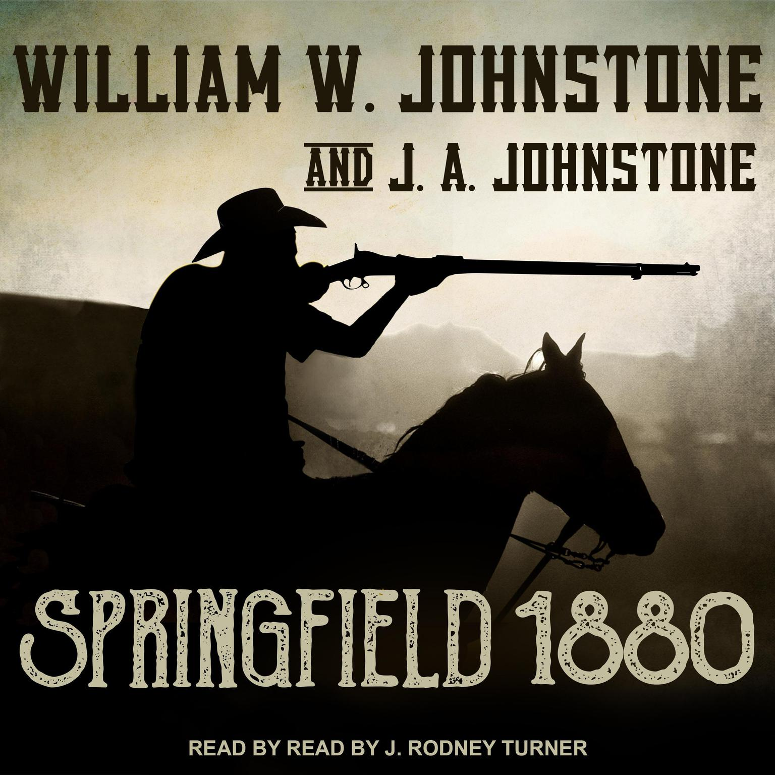 Printable Springfield 1880 Audiobook Cover Art