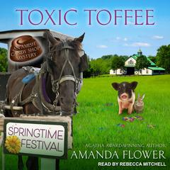 Toxic Toffee Audiobook, by Amanda Flower