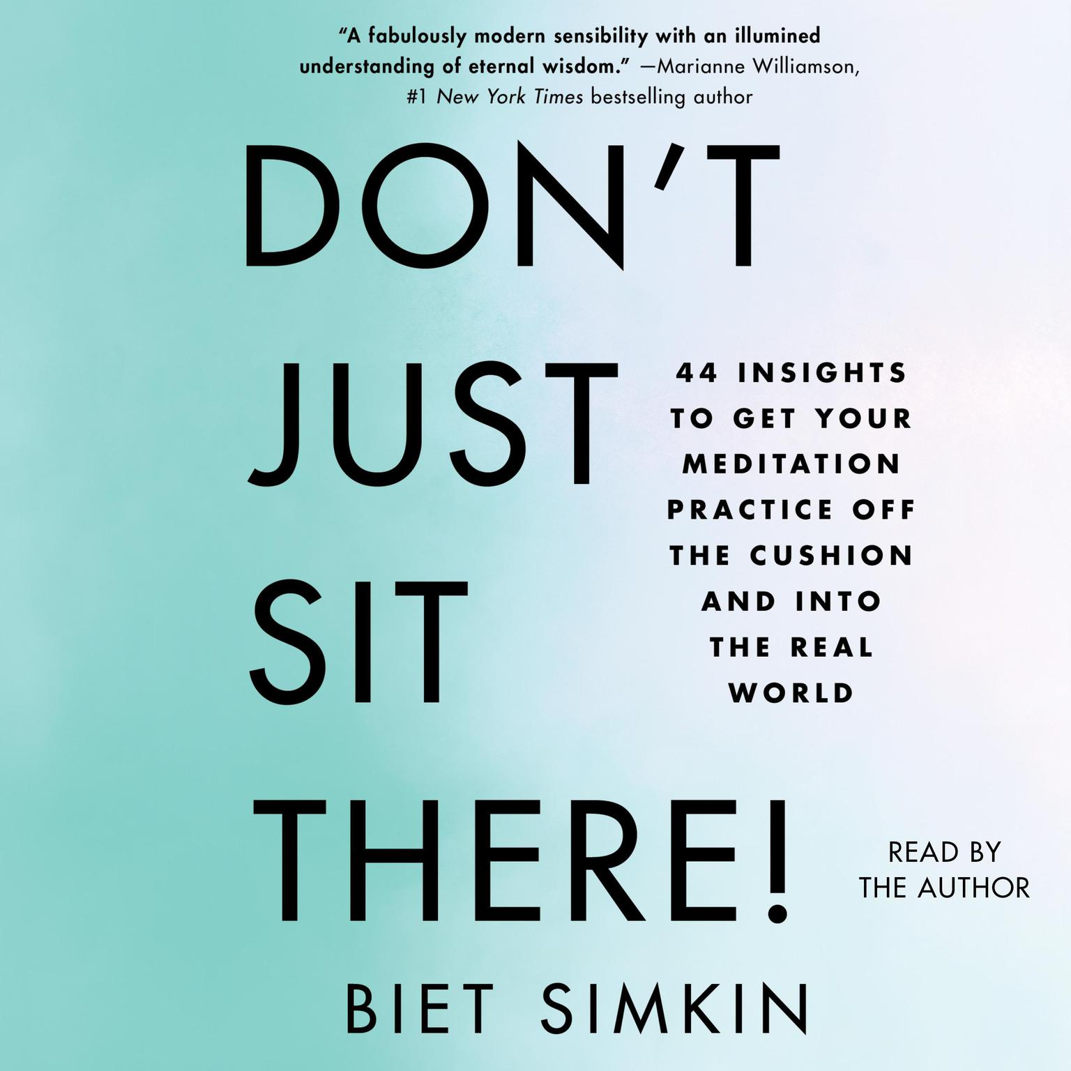 Printable Don't Just Sit There!: 44 Insights to Get Your Meditation Practice Off the Cushion and Into the Real World Audiobook Cover Art