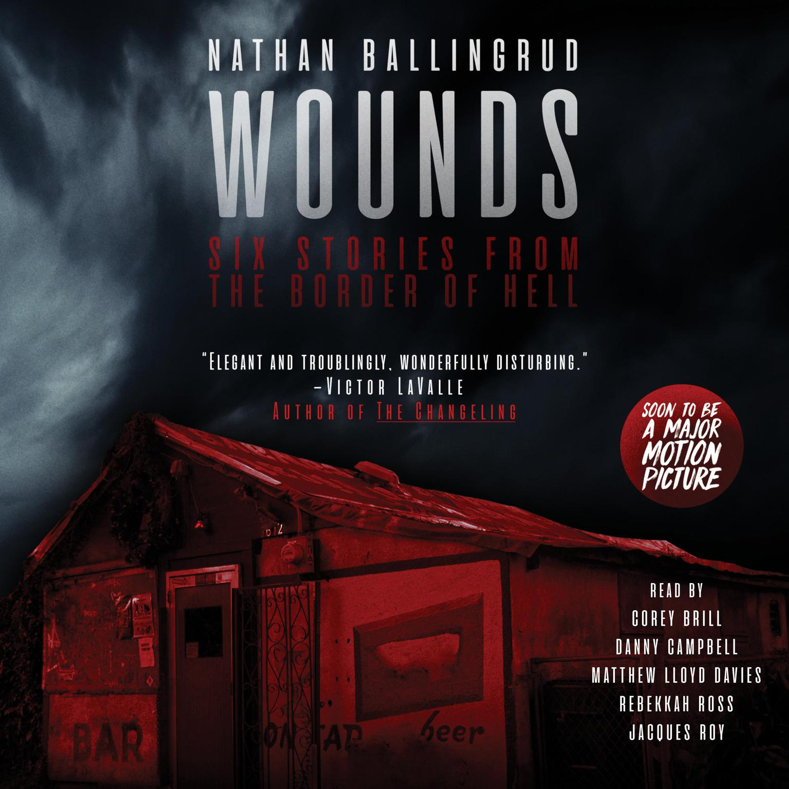 Printable Wounds: Six Stories from the Border of Hell Audiobook Cover Art