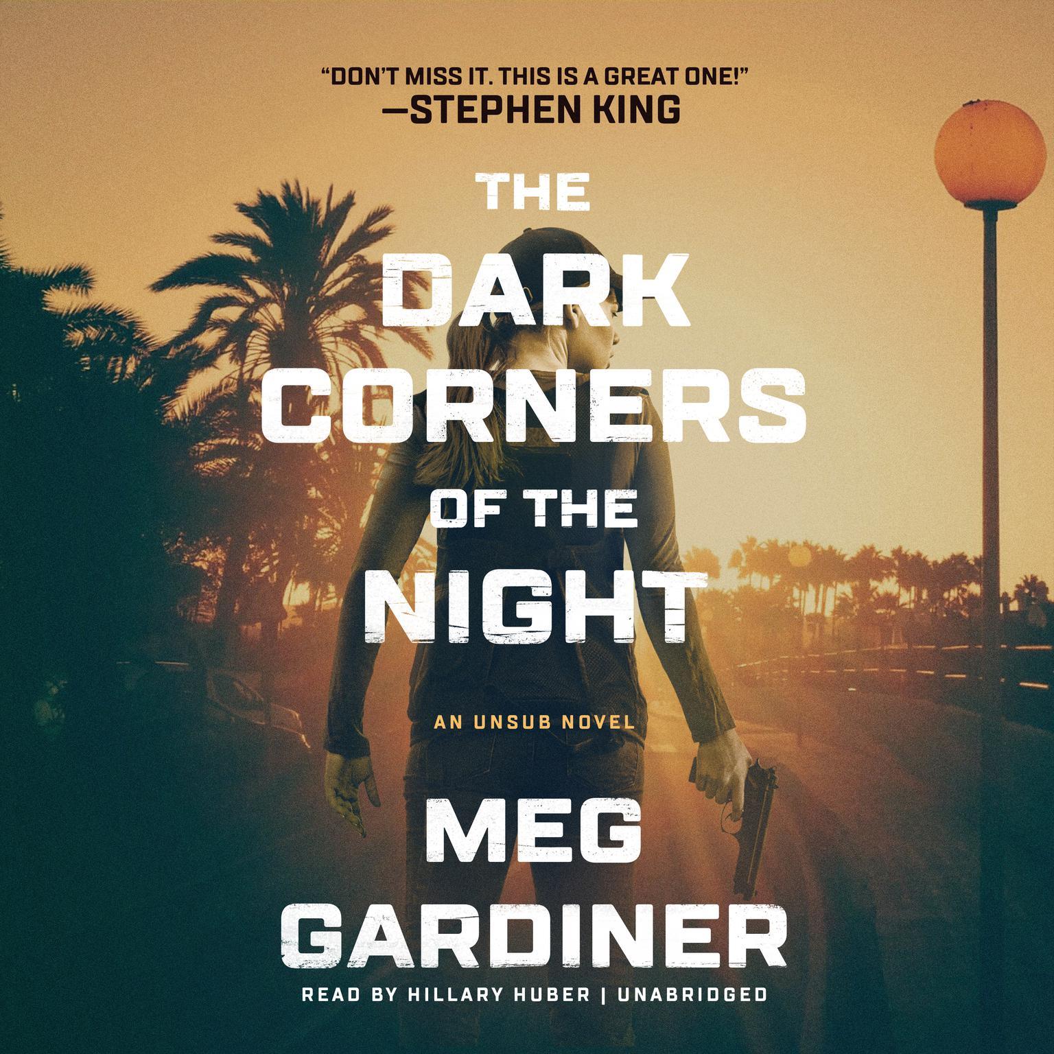 Printable The Dark Corners of the Night Audiobook Cover Art