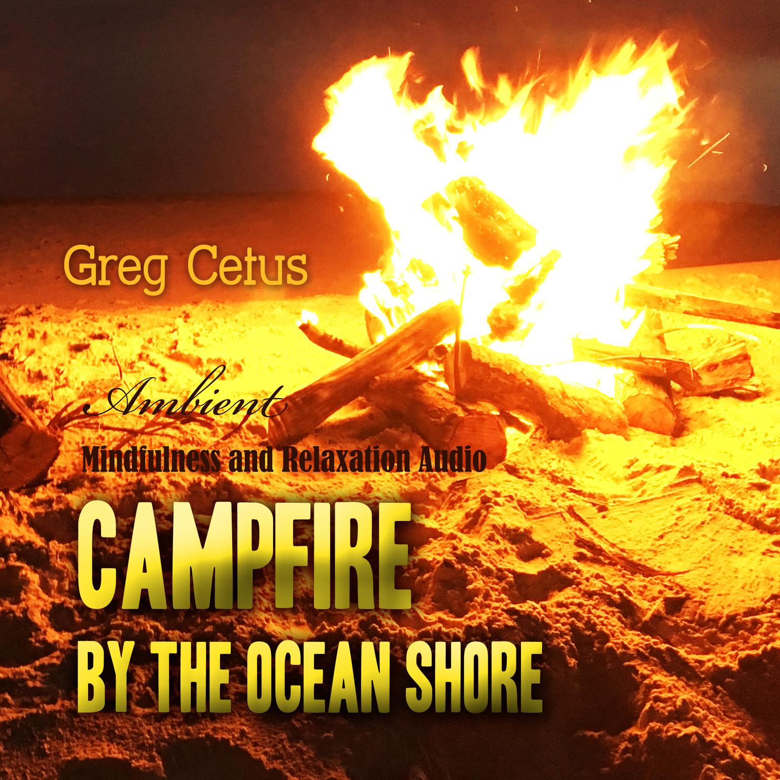 Campfire by the Ocean Shore: Mindfulness and Relaxation Audio Audiobook, by Greg Cetus