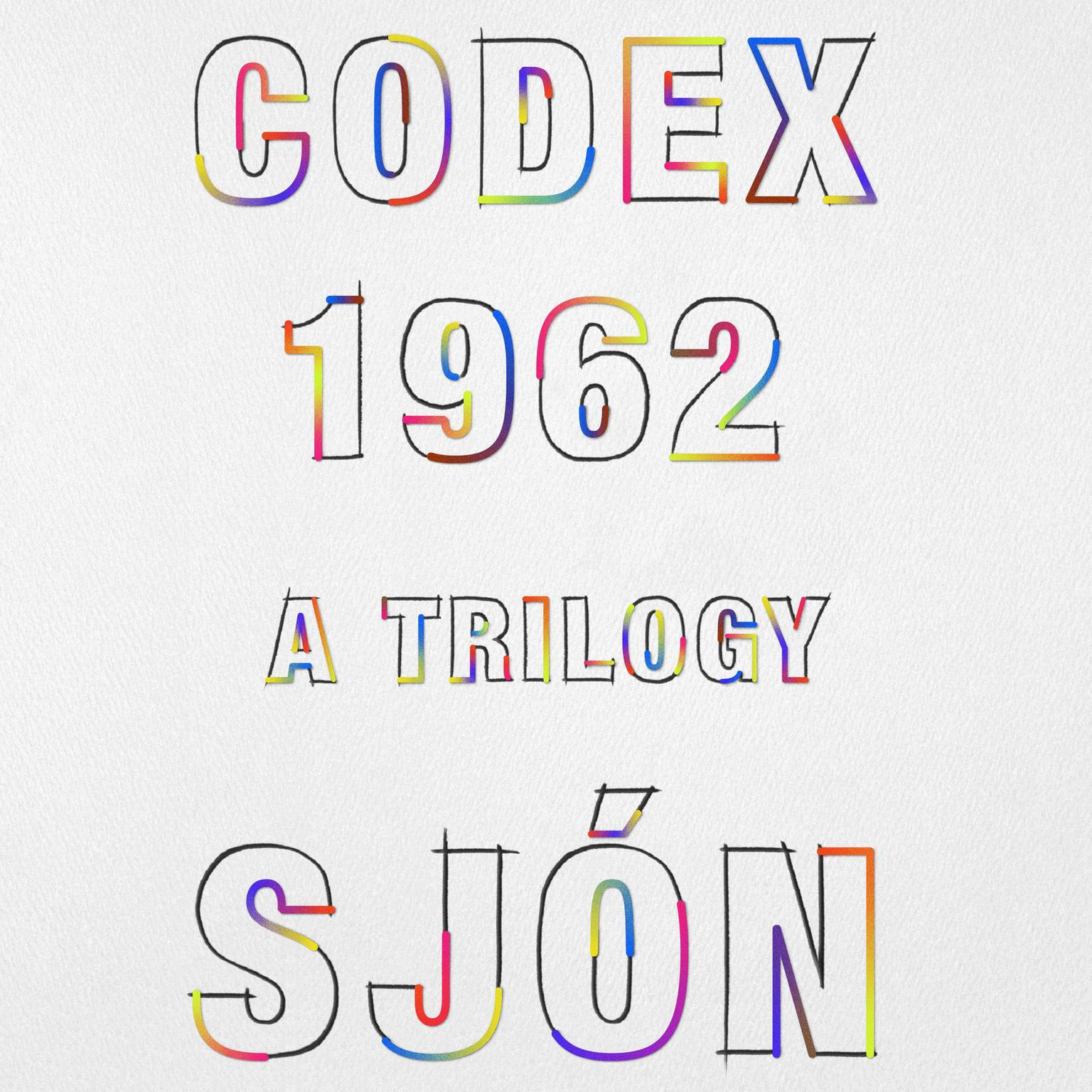 Printable CoDex 1962: A Trilogy Audiobook Cover Art