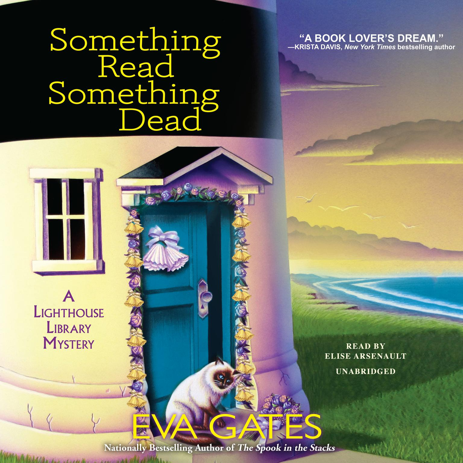 Printable Something Read Something Dead: A Lighthouse Library Mystery Audiobook Cover Art