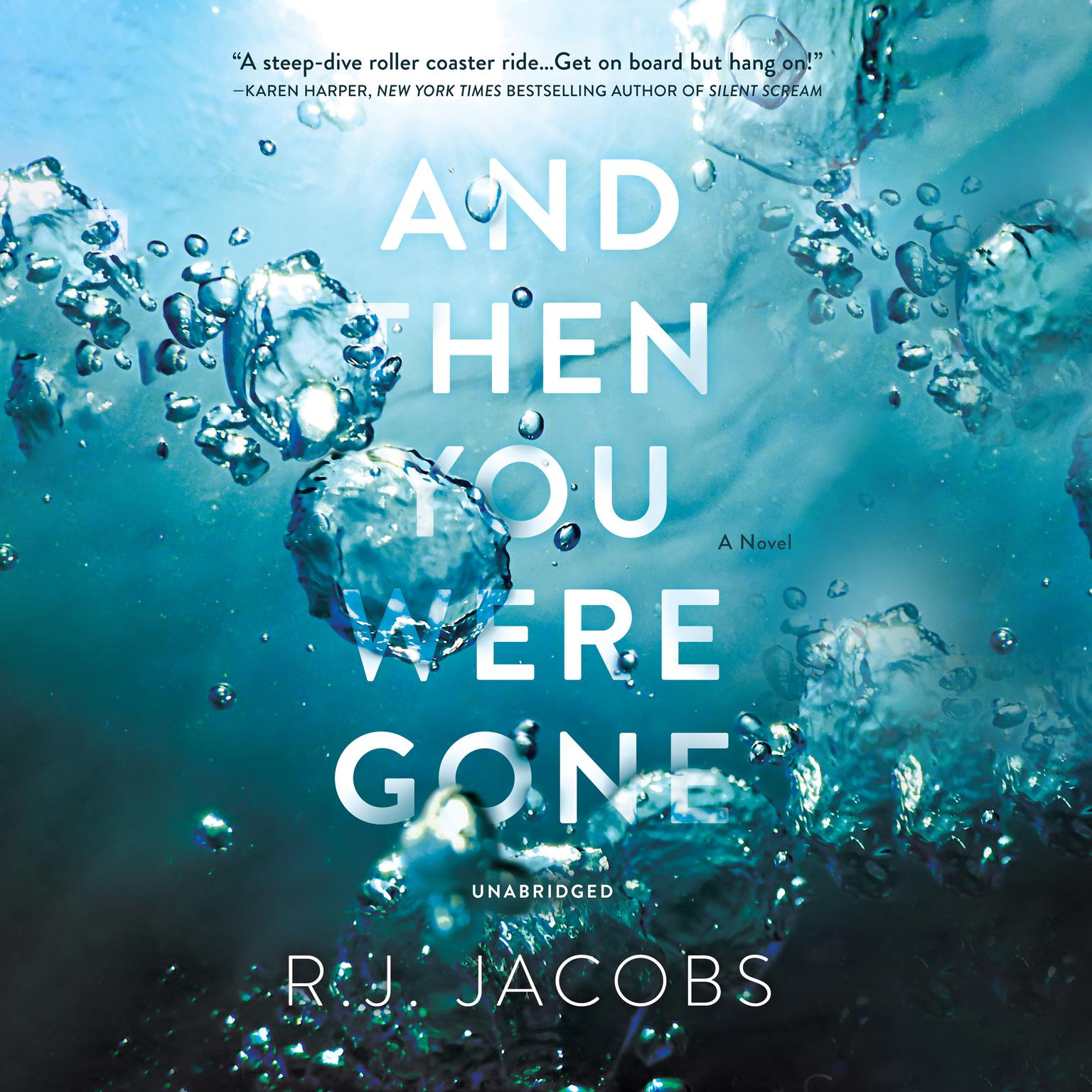 Printable And Then You Were Gone: A Novel Audiobook Cover Art