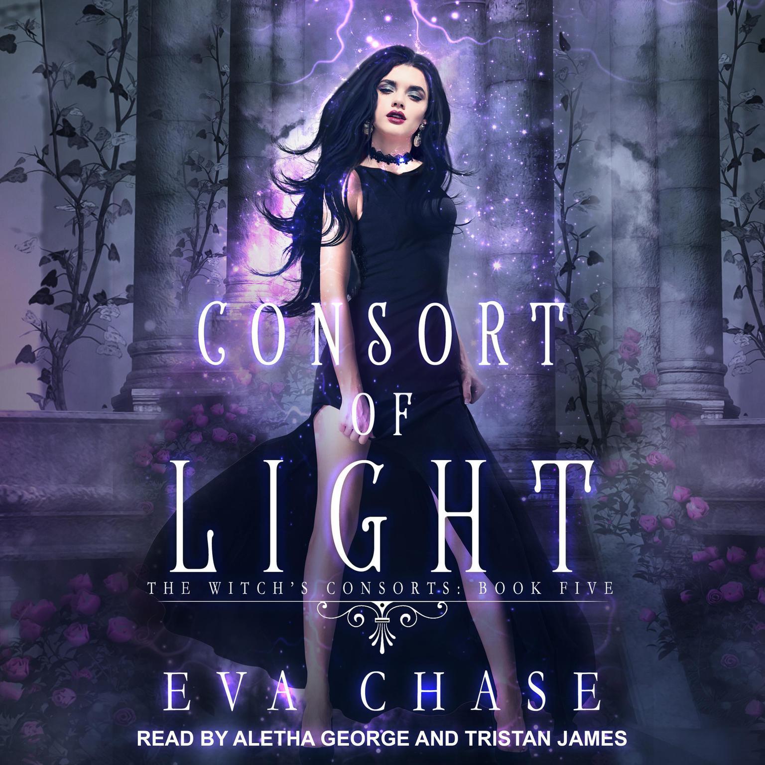 Printable Consort of Light: A Paranormal Reverse Harem Novel Audiobook Cover Art