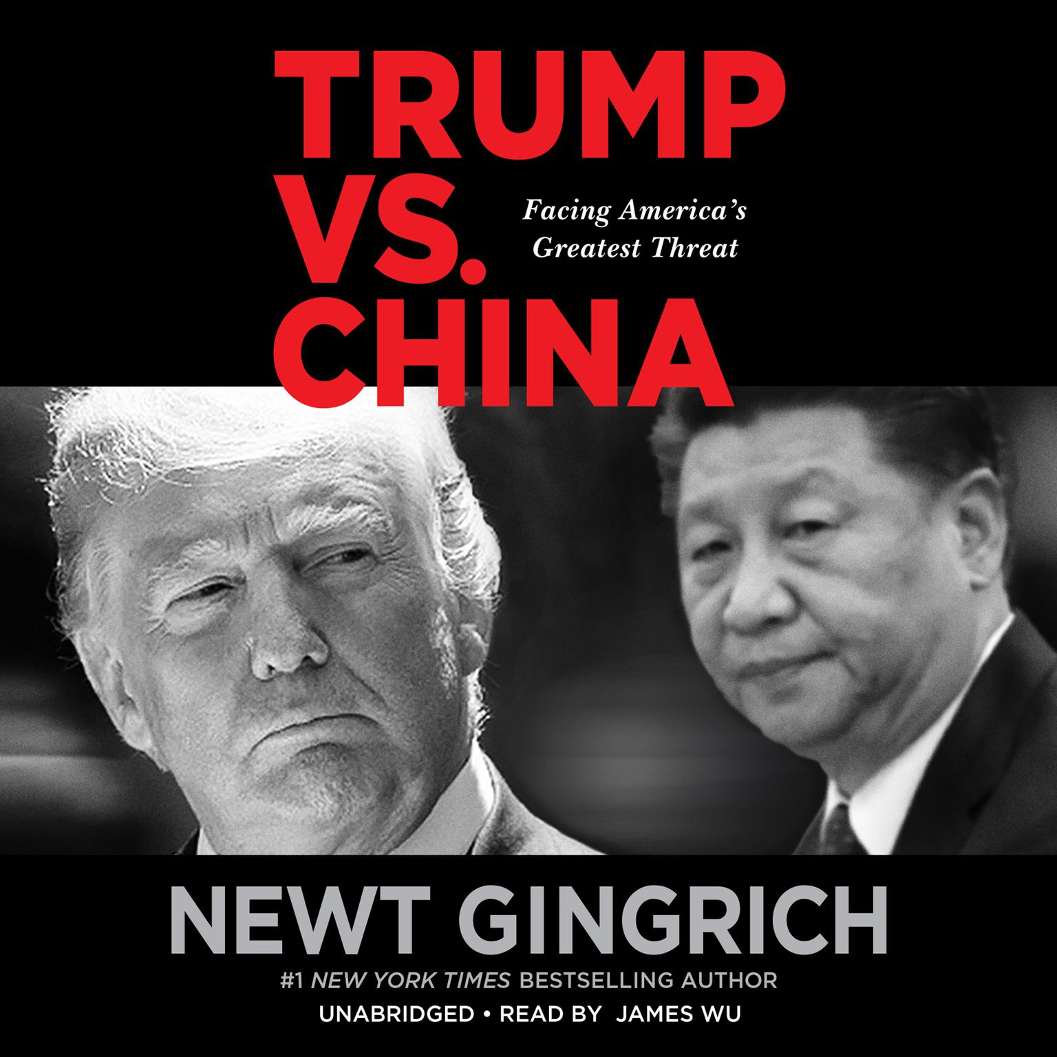 Printable Trump vs. China: Facing America's Greatest Threat Audiobook Cover Art