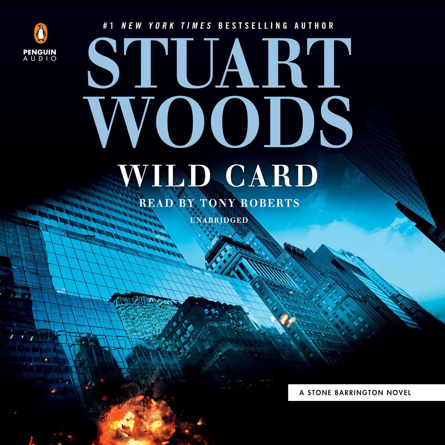 Printable Wild Card Audiobook Cover Art