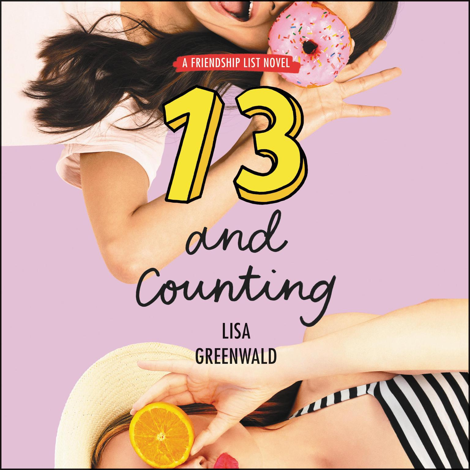 Printable Friendship List #3: 13 and Counting Audiobook Cover Art