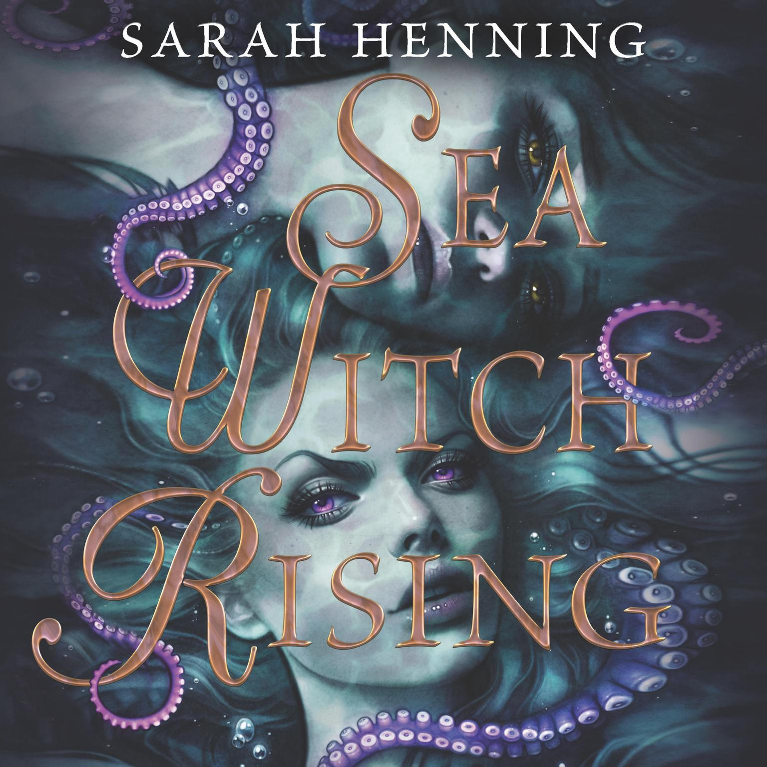 Printable Sea Witch Rising Audiobook Cover Art