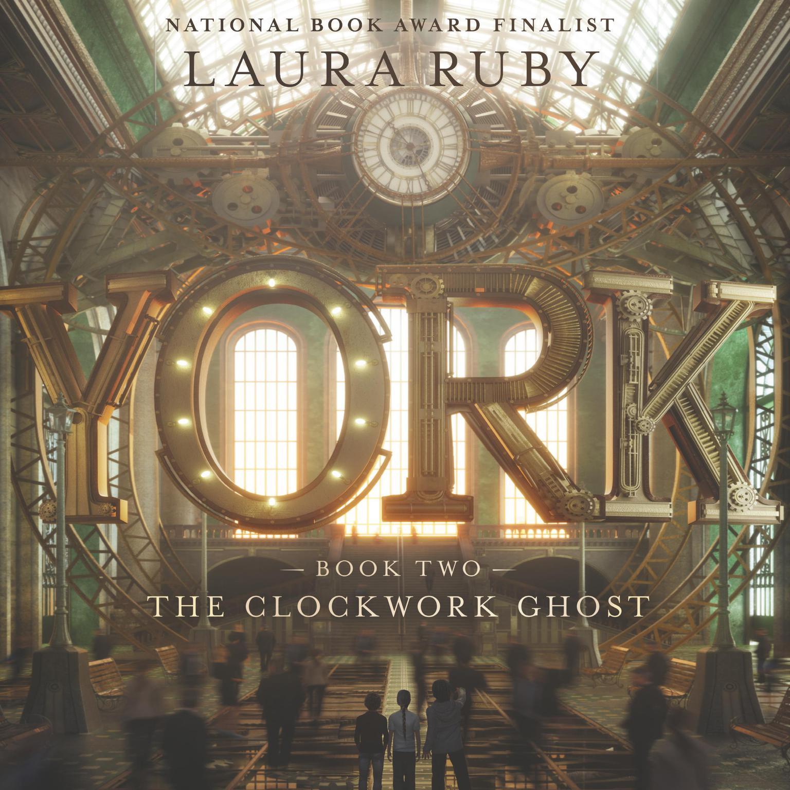 Printable York: The Clockwork Ghost Audiobook Cover Art