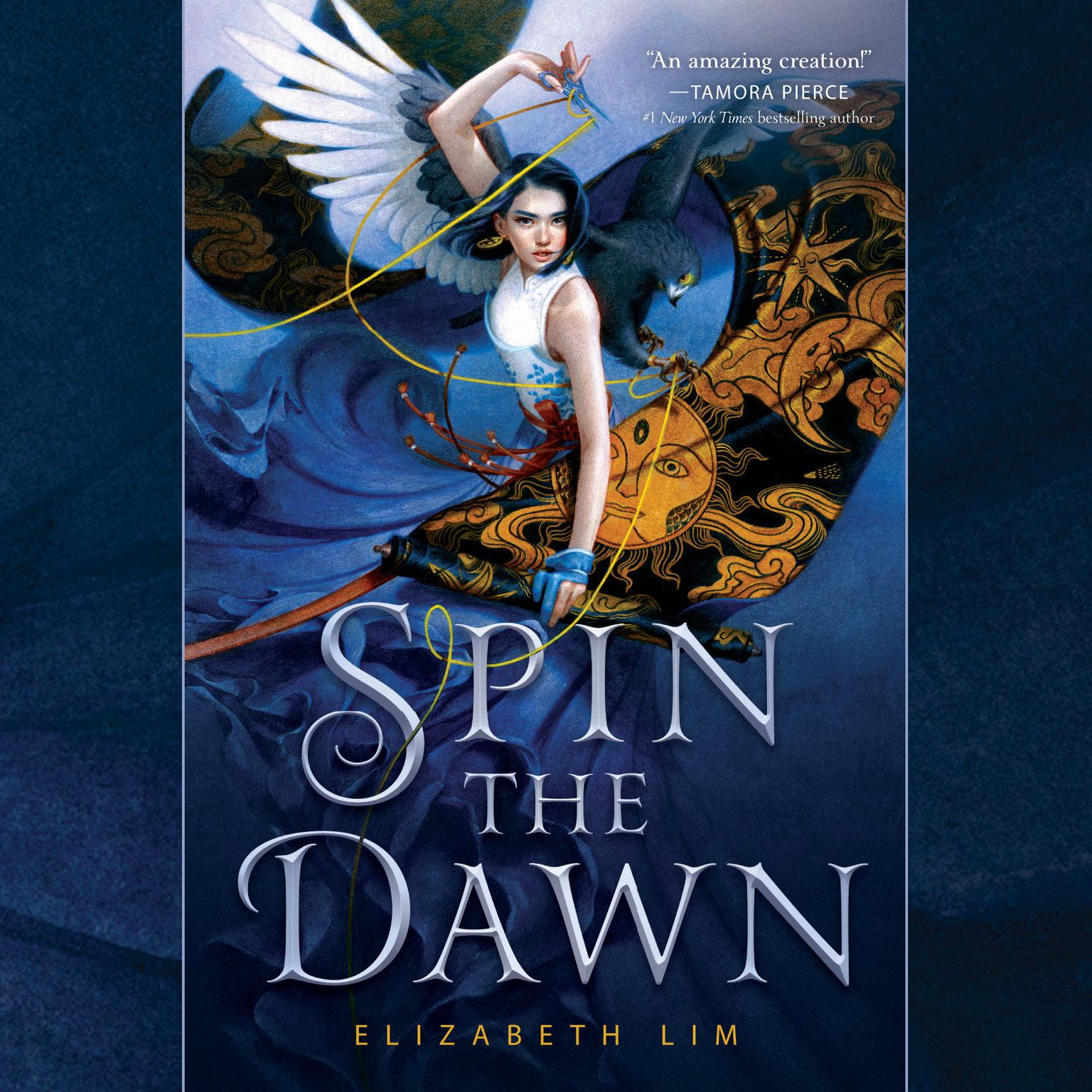 Printable Spin the Dawn Audiobook Cover Art