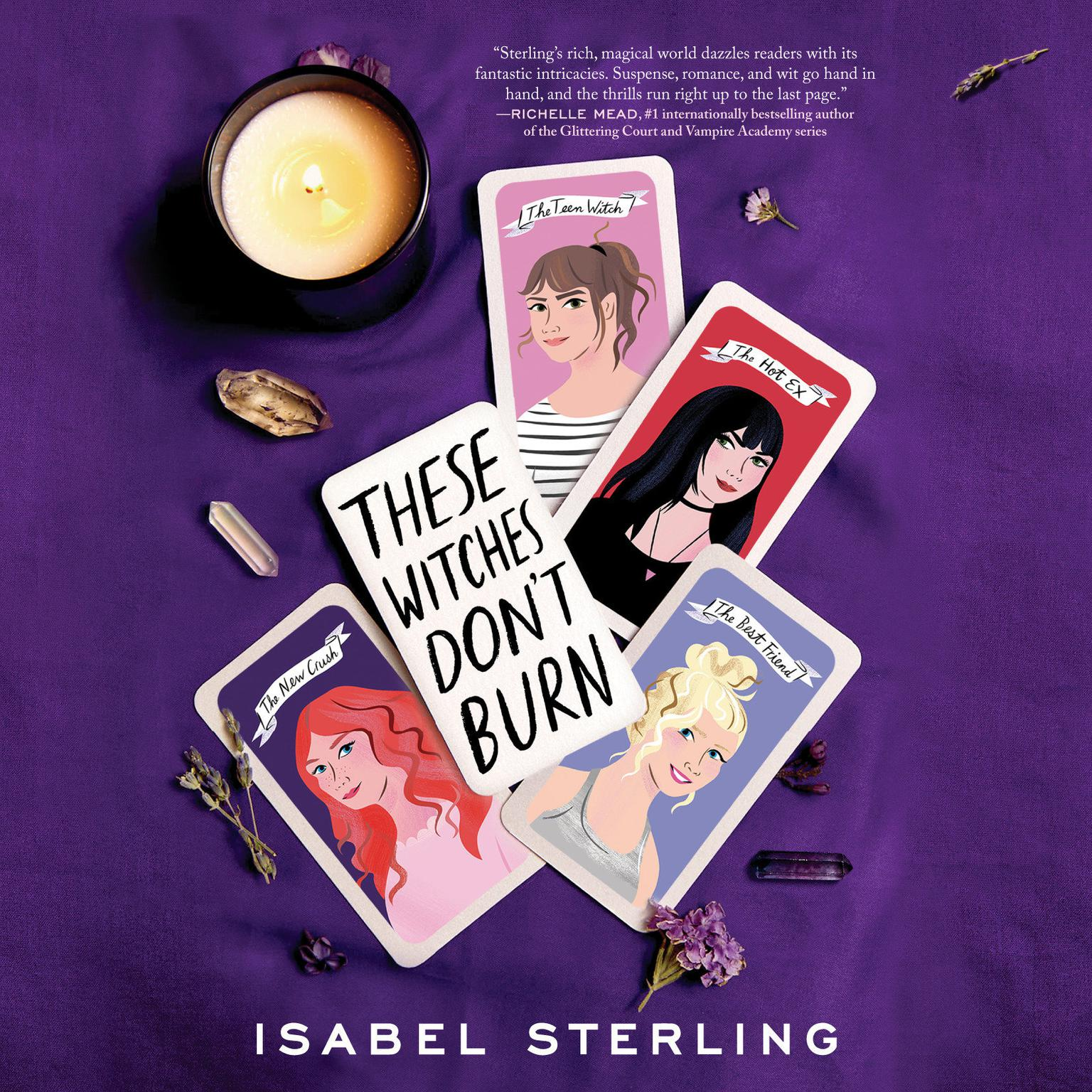 Printable These Witches Don't Burn Audiobook Cover Art